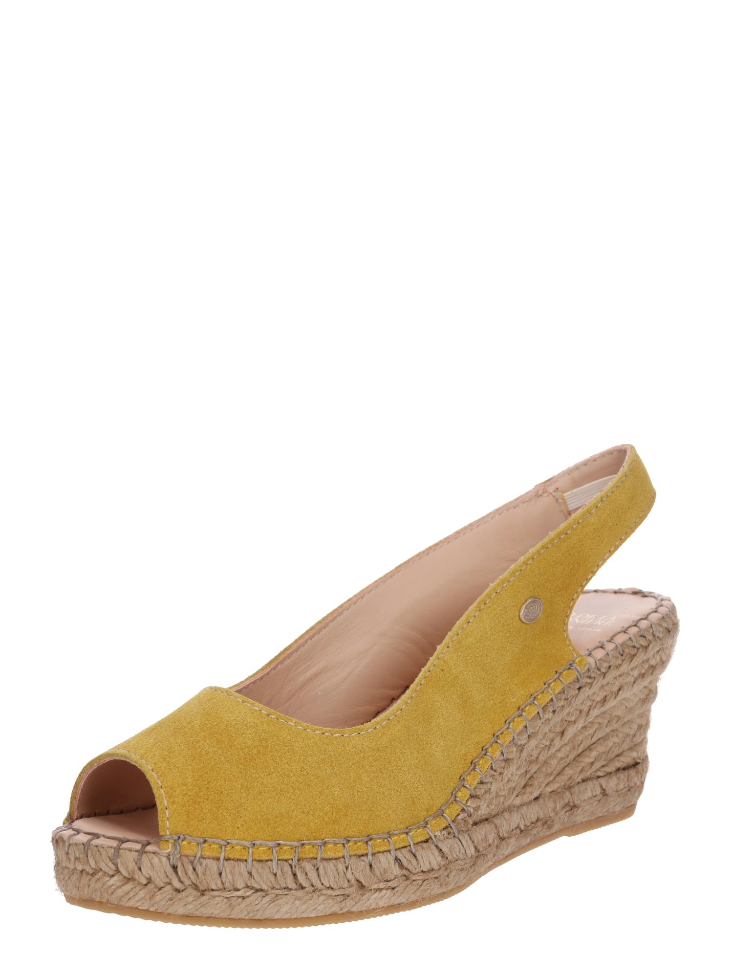 Sandály žlutá Fred De La BretoniÈre