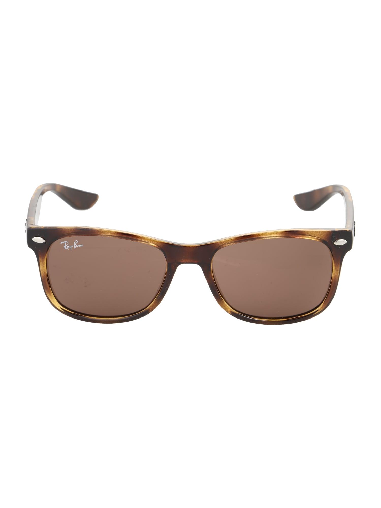 Sluneční brýle JUNIOR NEW WAYFARER hnědá Ray-Ban
