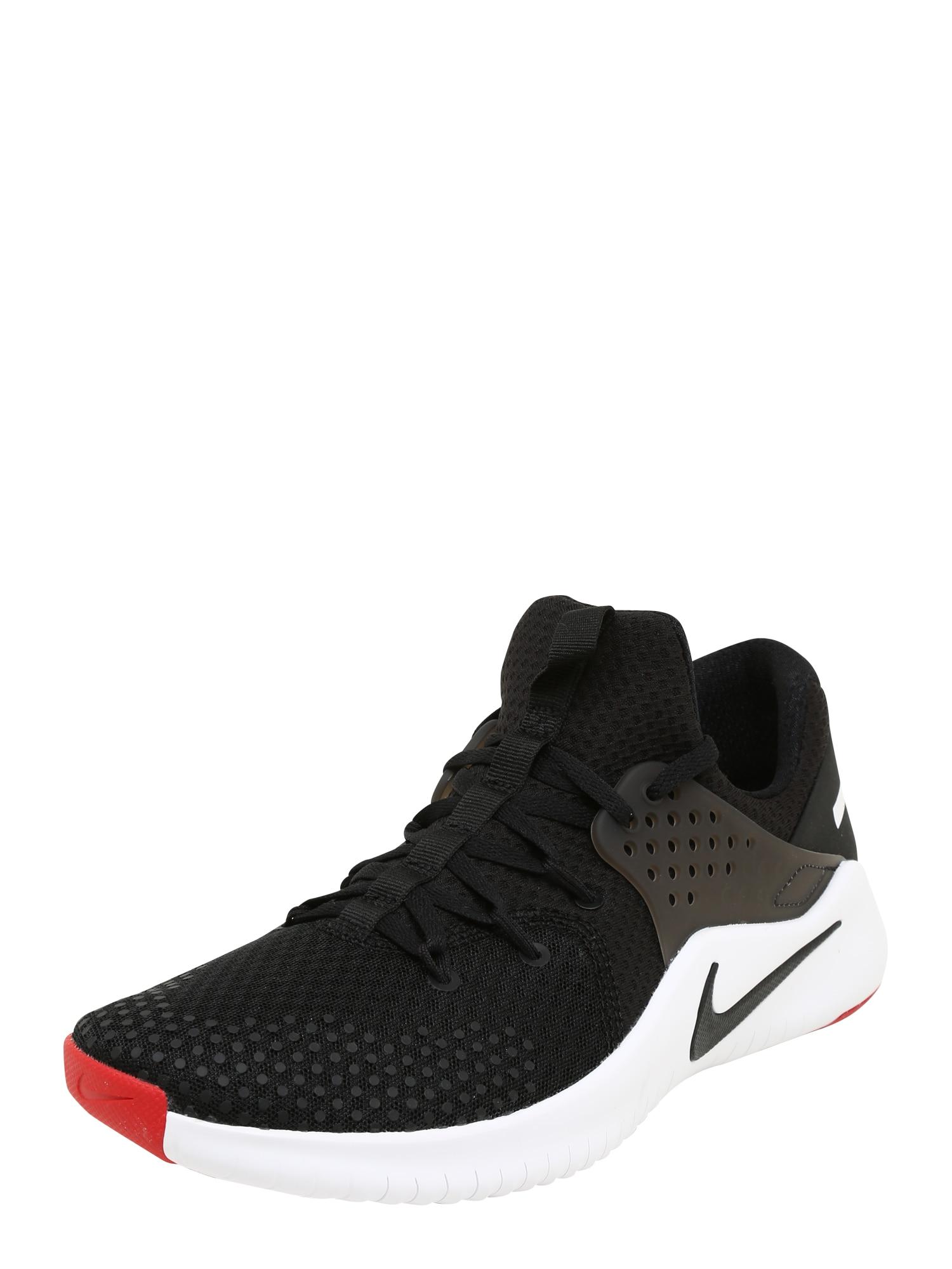 NIKE, Heren Sportschoen 'Free Trainer V8', rood / zwart / wit