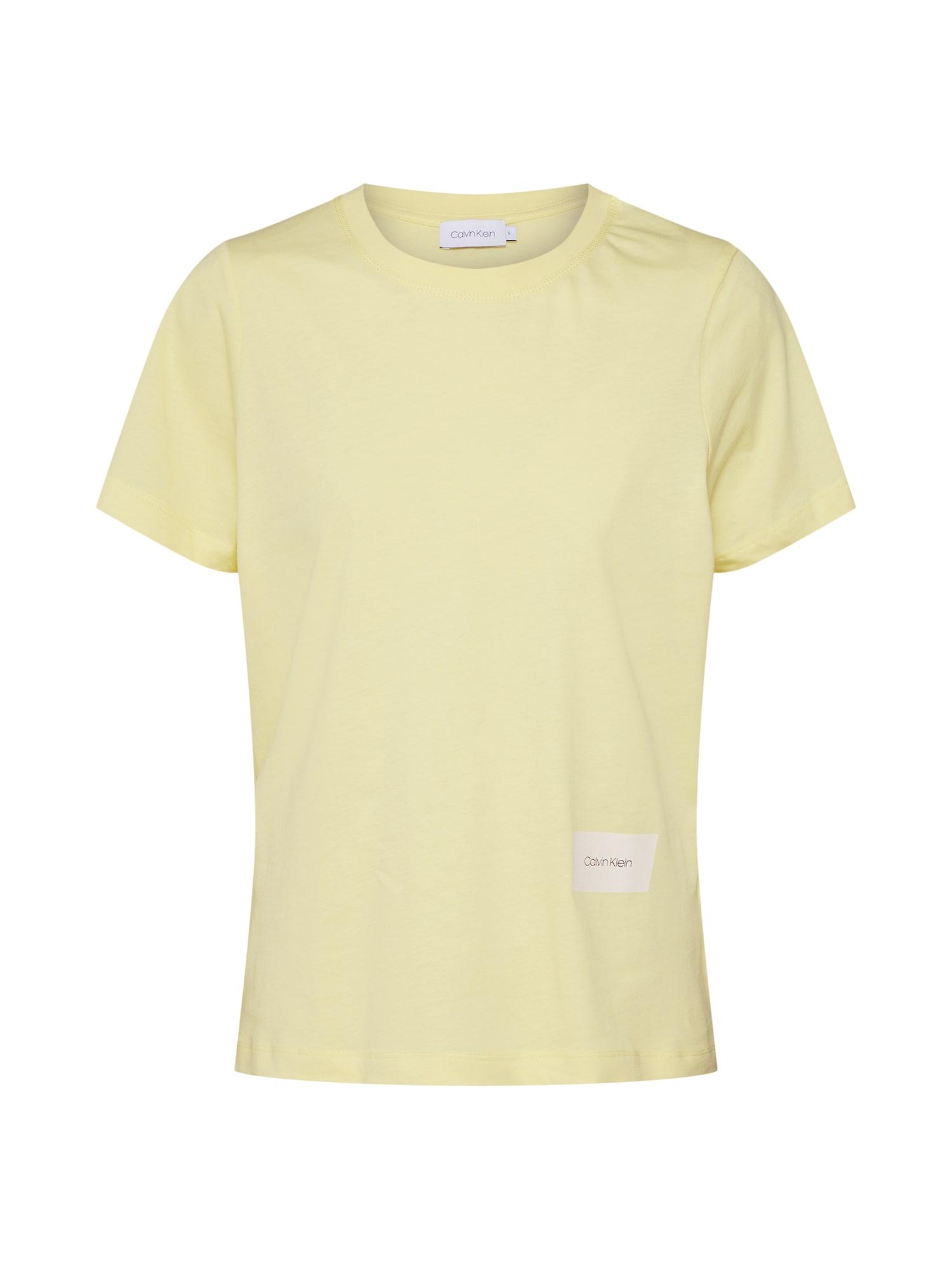 Tričko žlutá Calvin Klein