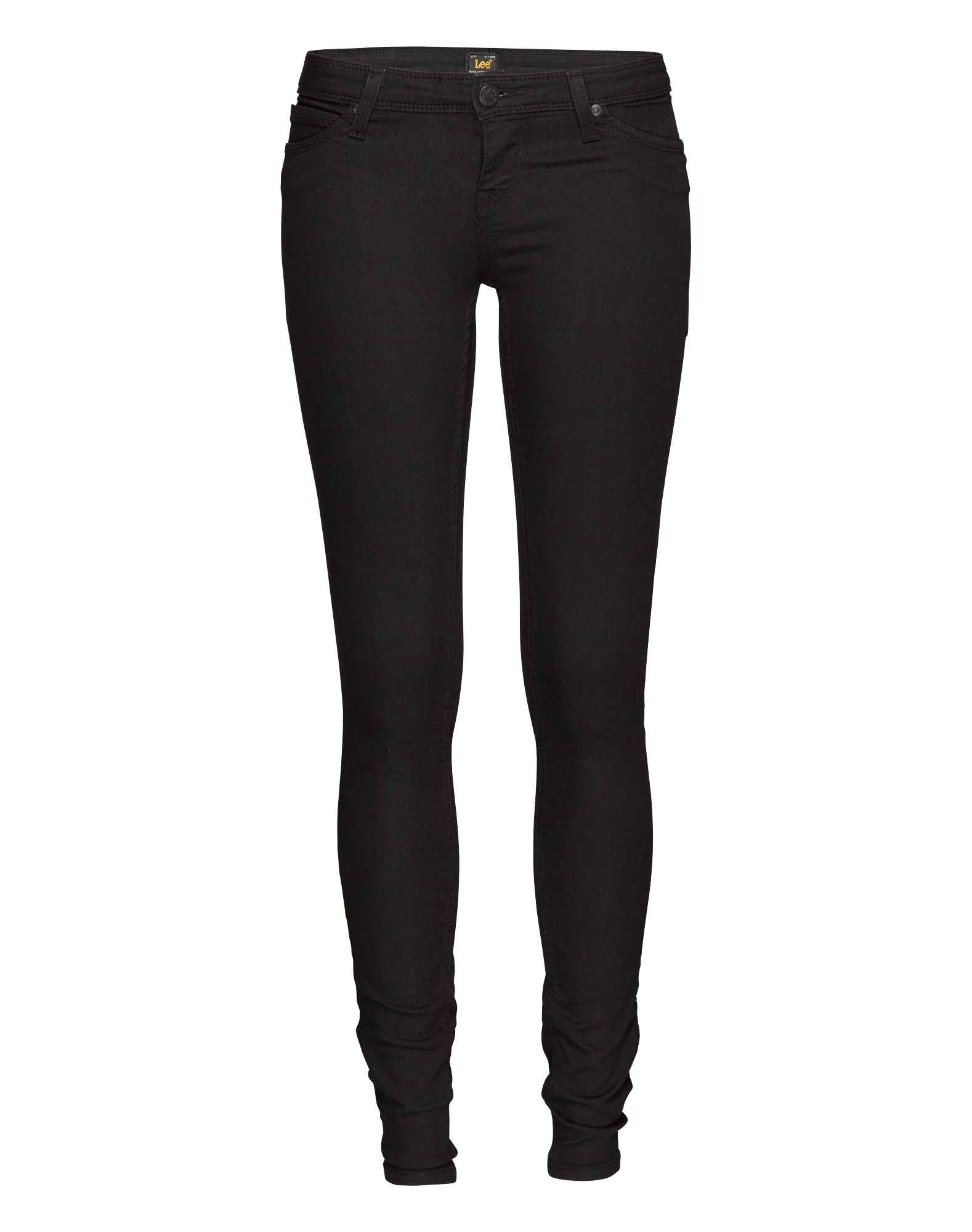 Lee Dames Jeans Toxey Super Skinny zwart