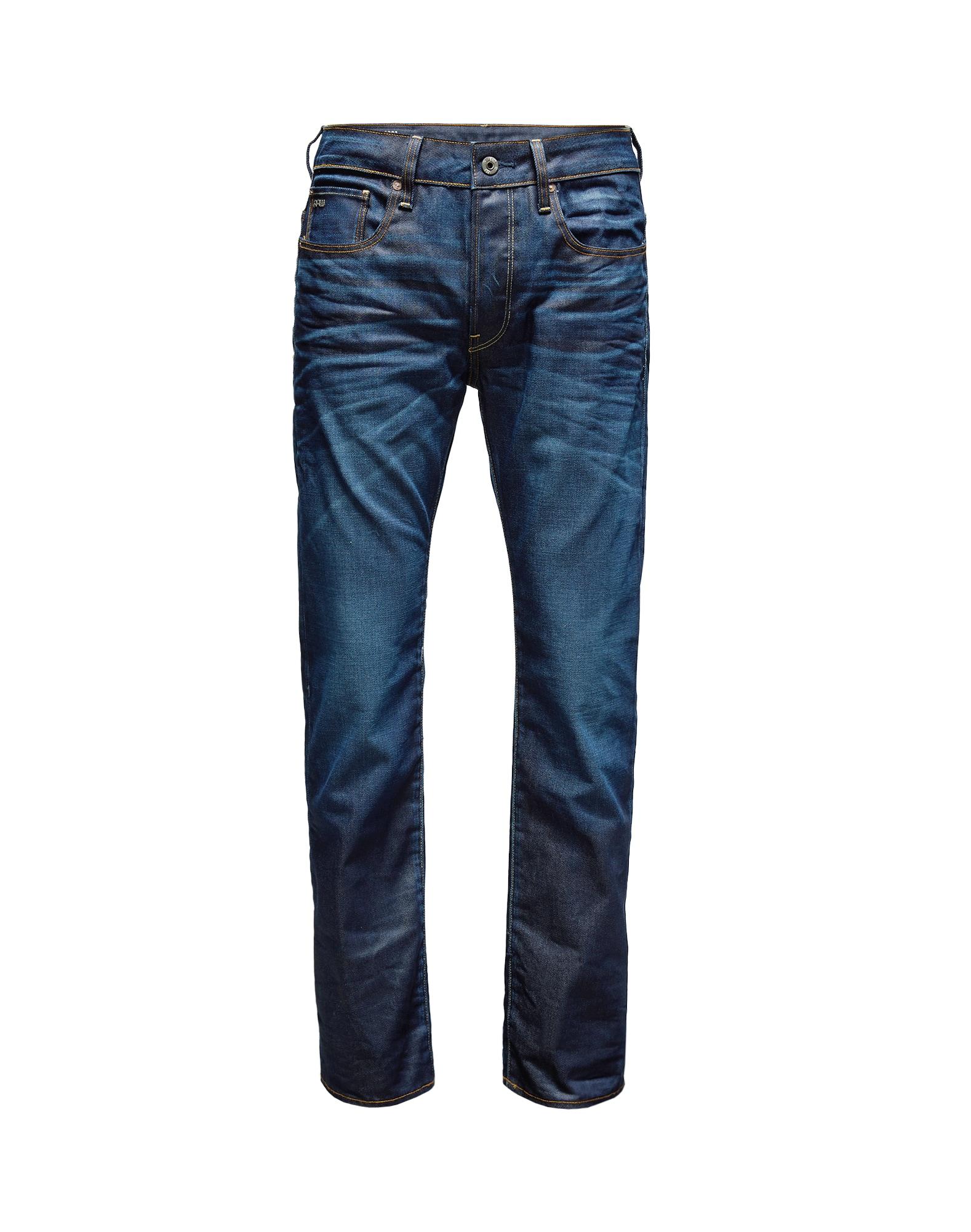 Džíny 3301 Straight tmavě modrá G-STAR RAW