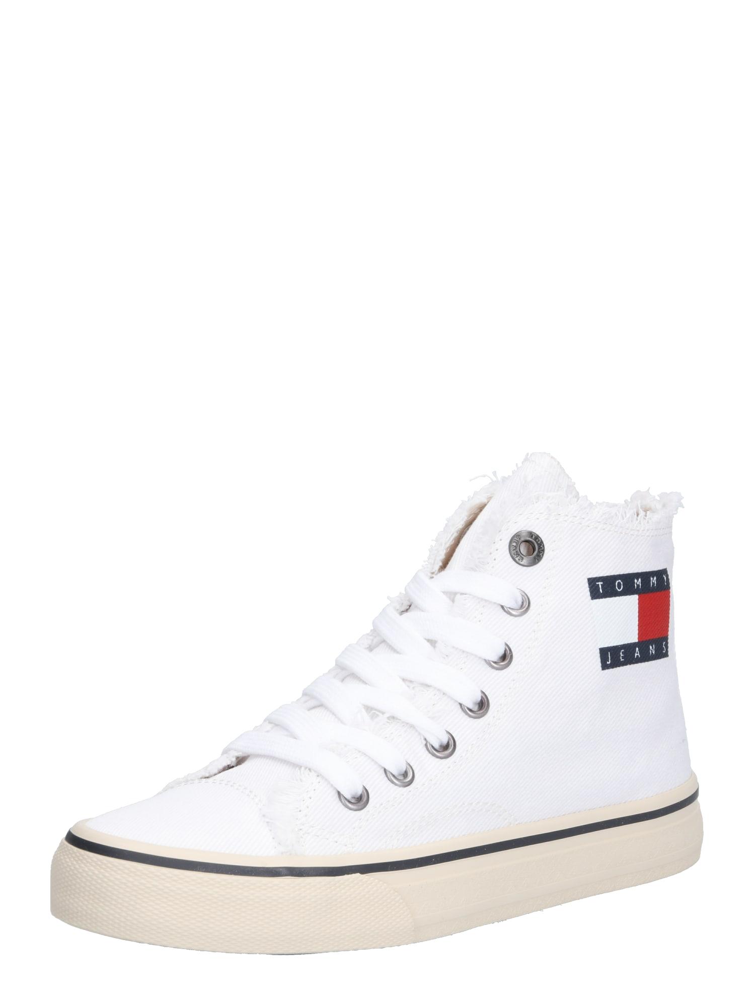 Kotníkové tenisky bílá Tommy Jeans