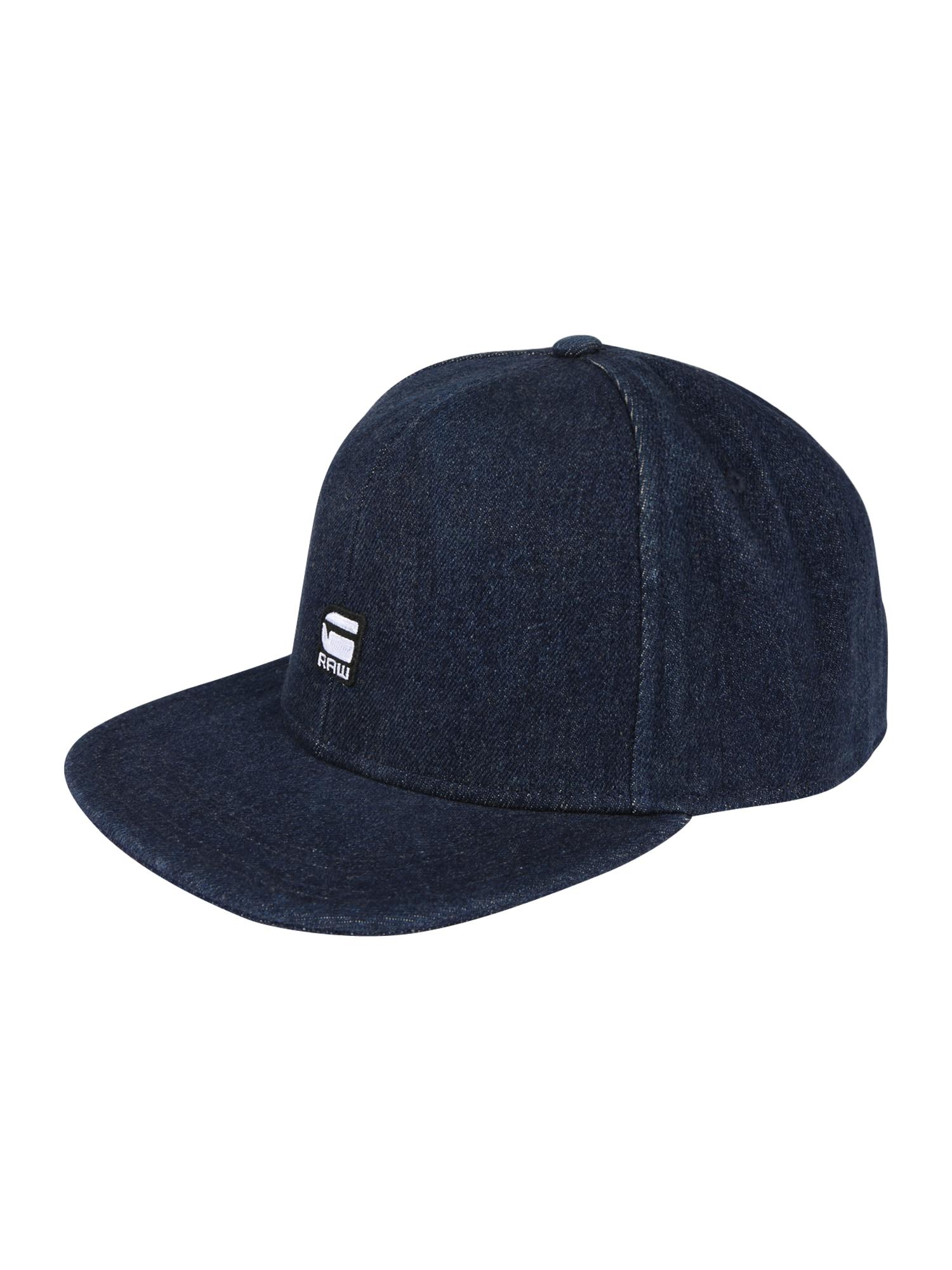 Kšiltovka Data snapback cap tmavě modrá G-STAR RAW