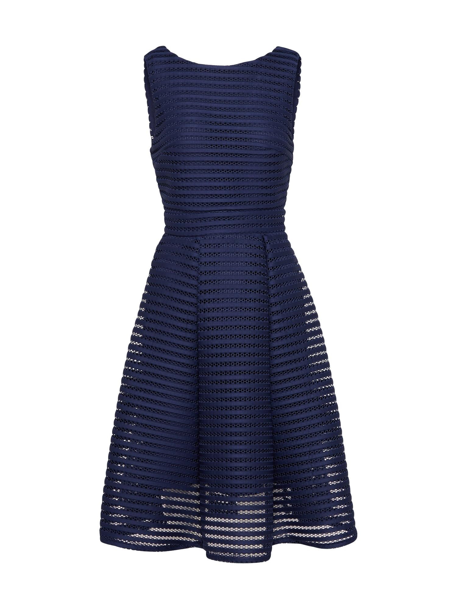 Koktejlové šaty Charlotte námořnická modř TFNC