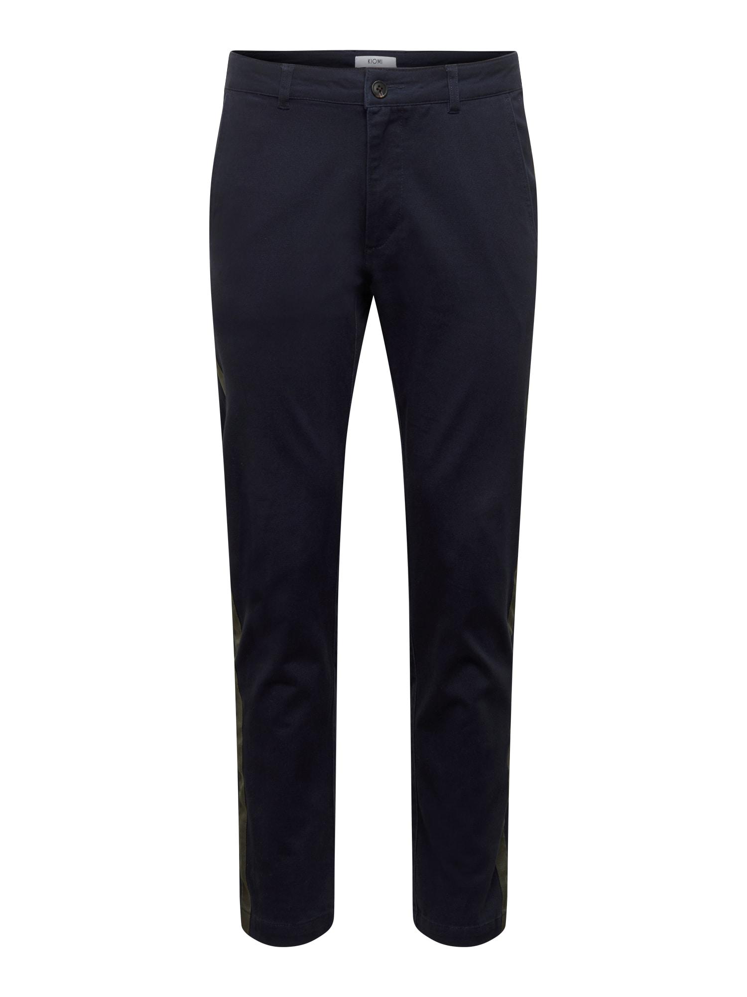 Kalhoty Side-Stripe Chino námořnická modř KIOMI