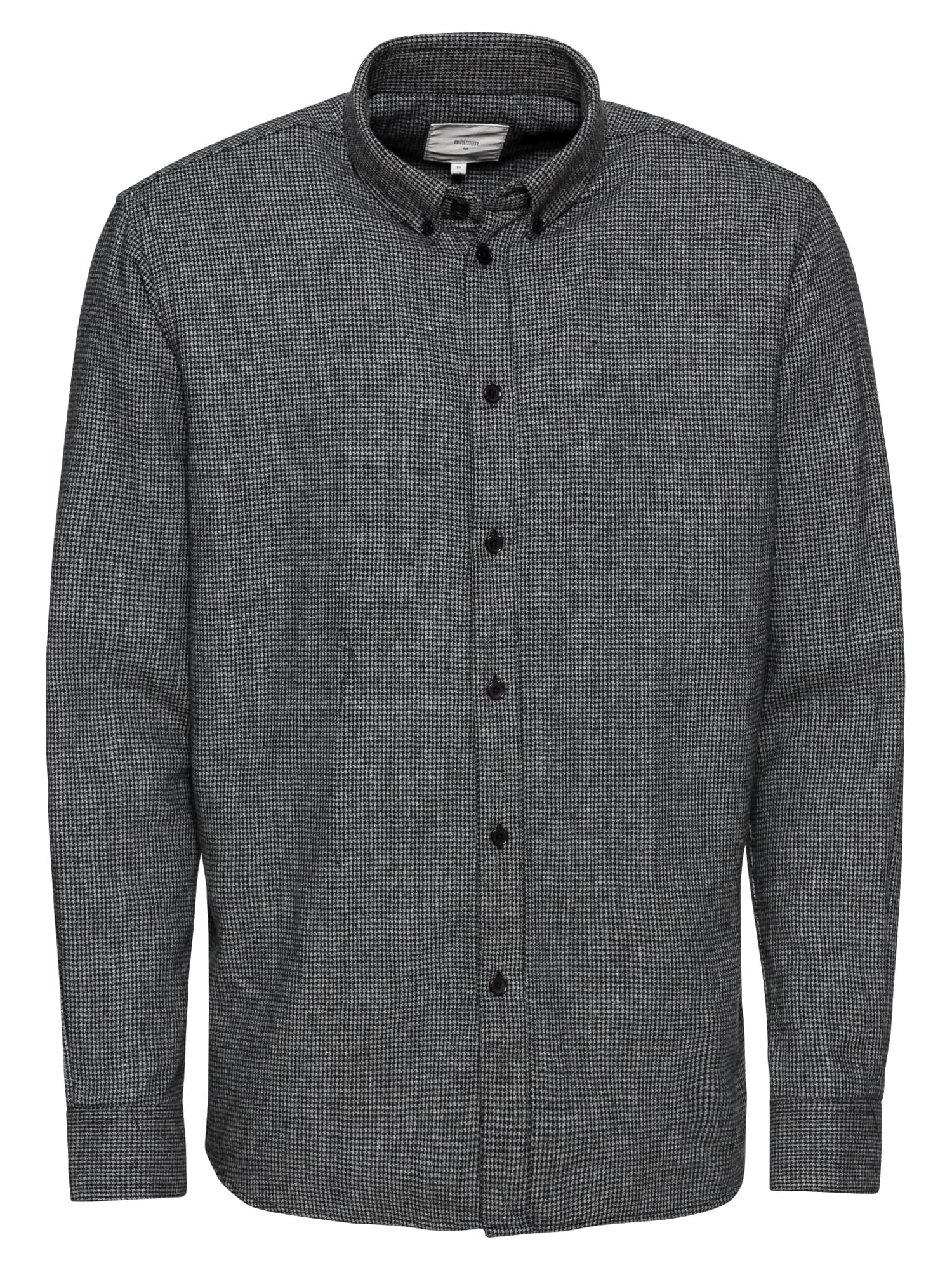 Košile walther šedá Minimum
