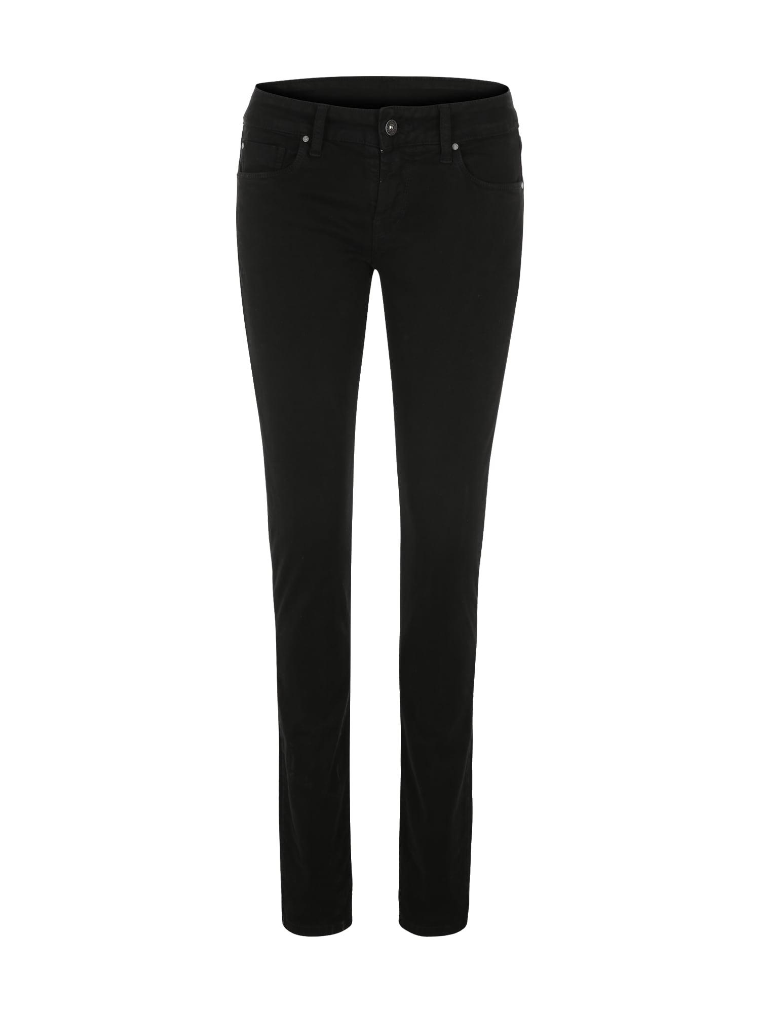 Pepe Jeans Dames Broek Soho zwart