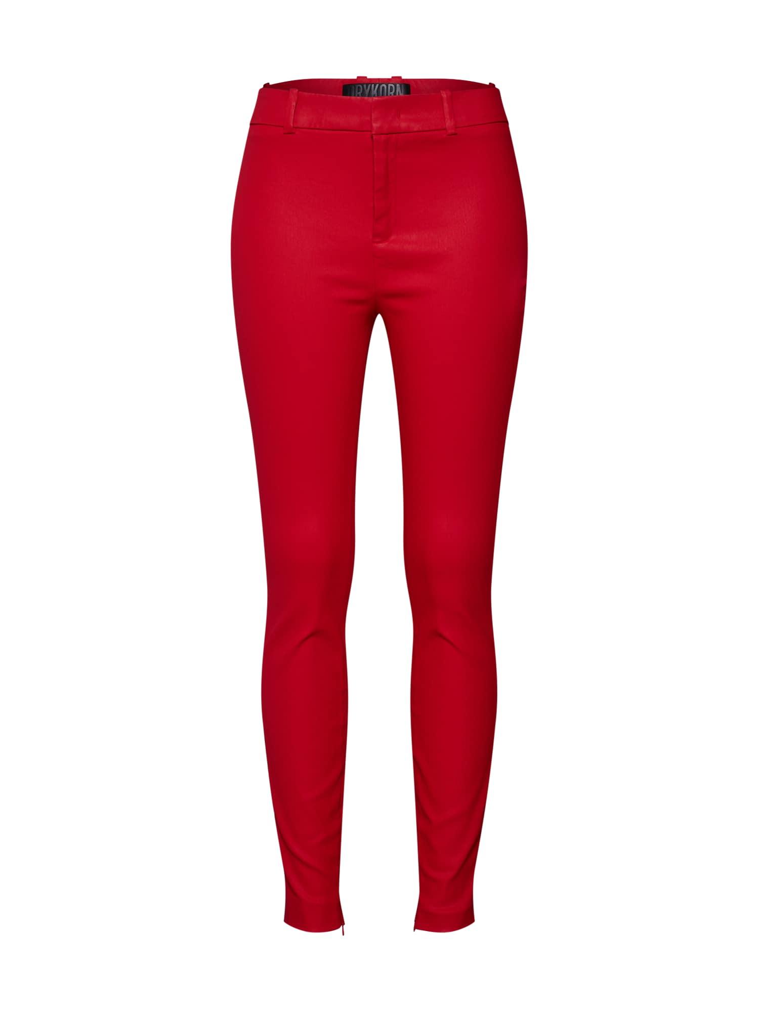 Kalhoty WINCH červená DRYKORN