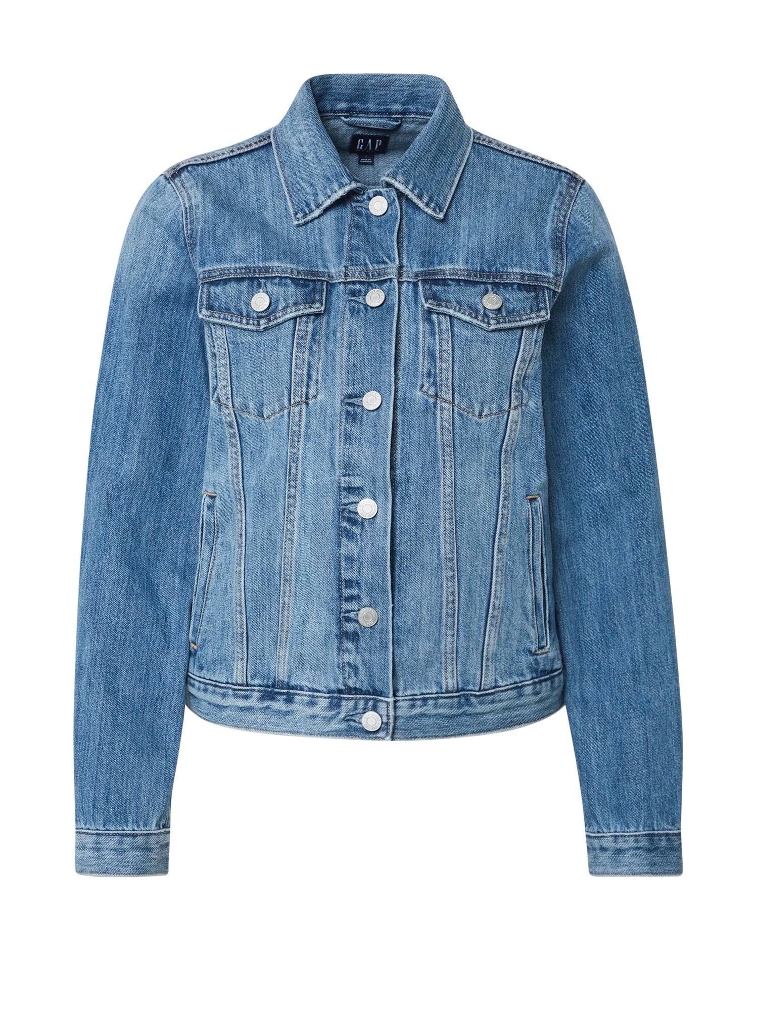 GAP Prechodná bunda 'MED COOPER'  modrá denim