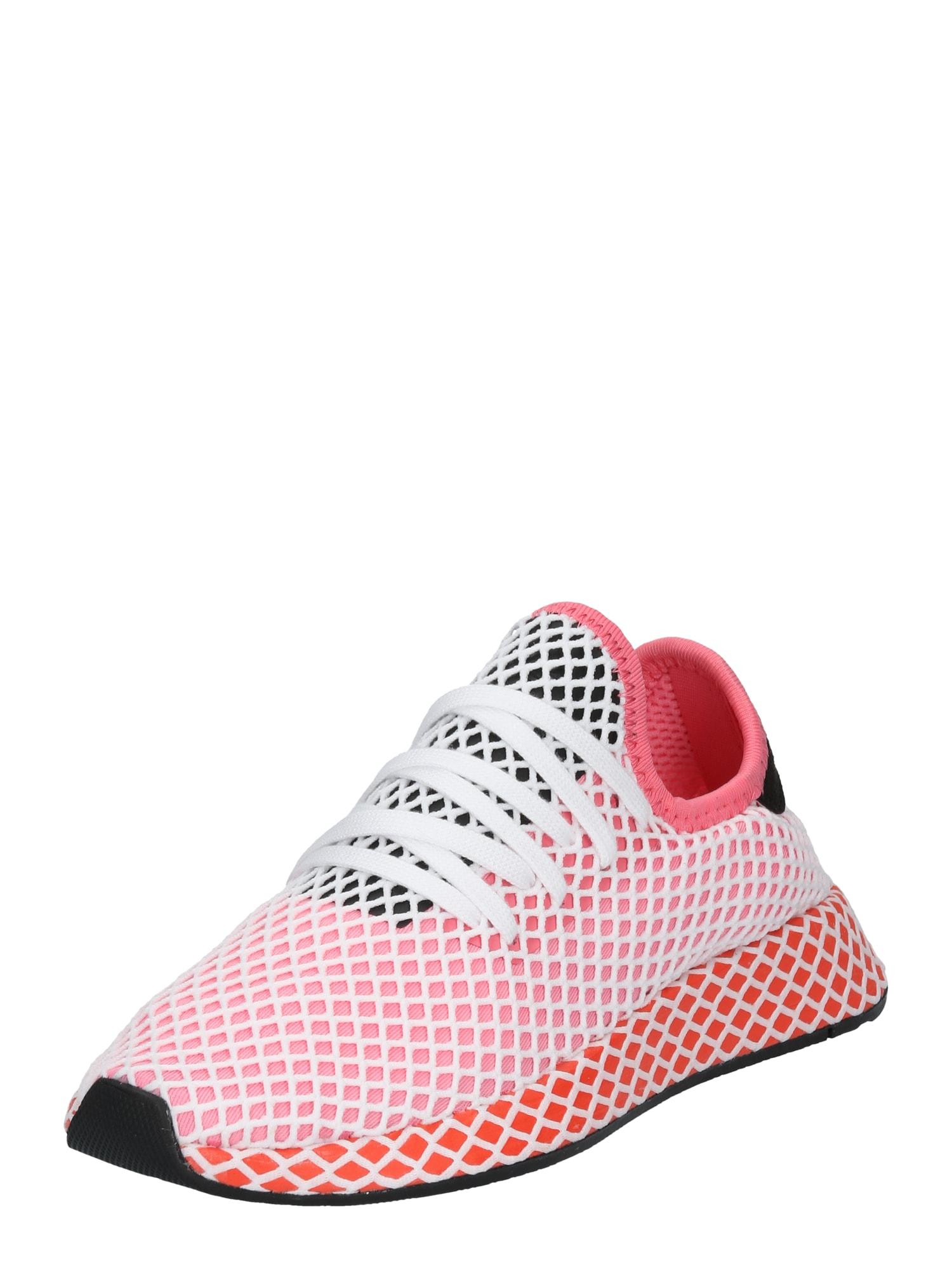 ADIDAS ORIGINALS, Dames Sneakers laag 'DEERUPT RUNNER', rosa