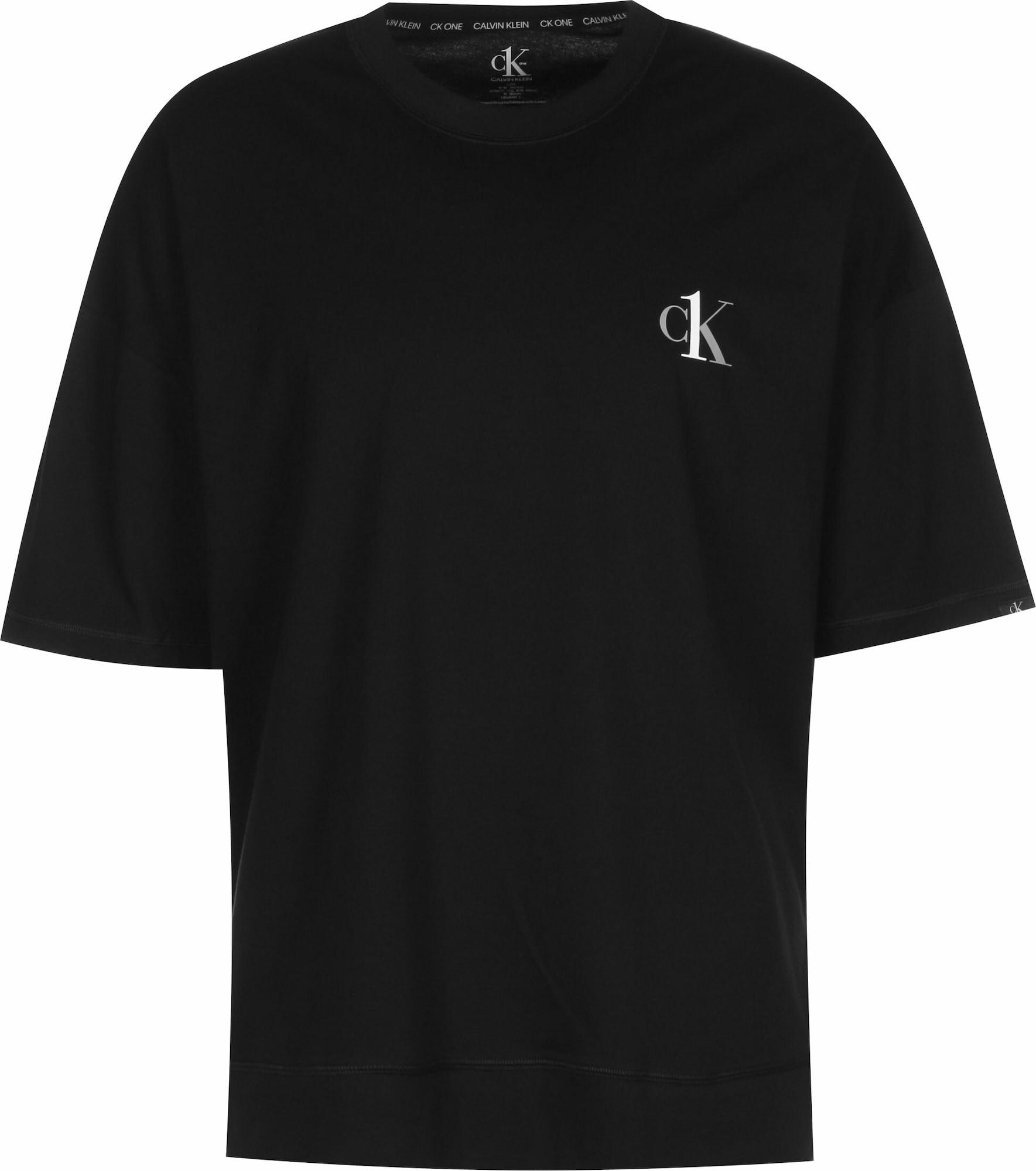Calvin Klein Underwear Pyžamo krátké  černá