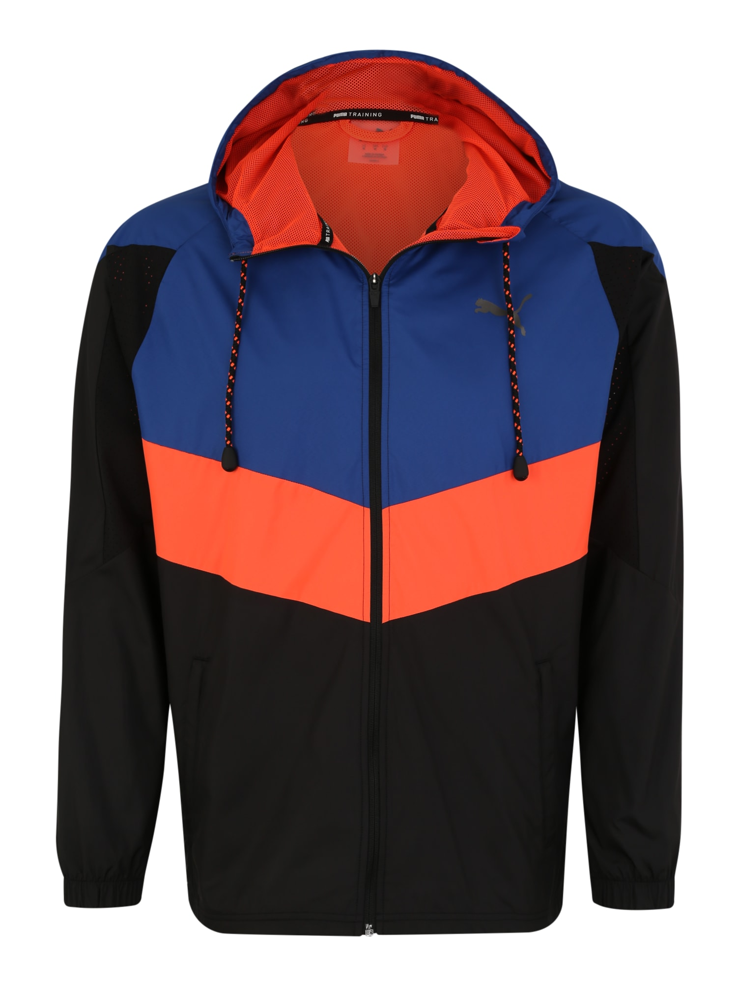 Sportovní bunda Reactive tmavě modrá červená černá PUMA