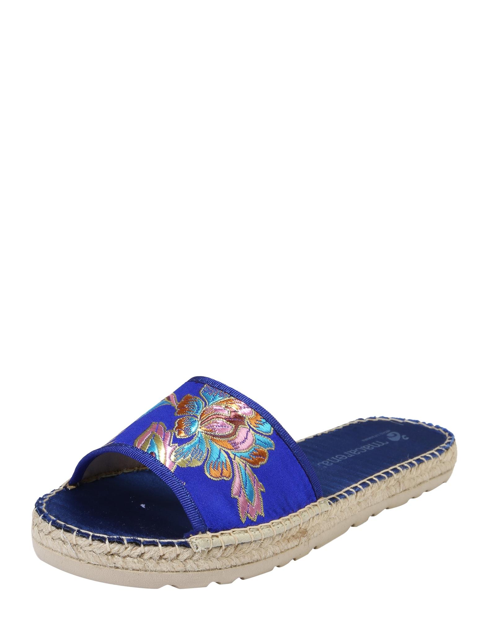 Pantofle Rubi 3 modrá MACARENA