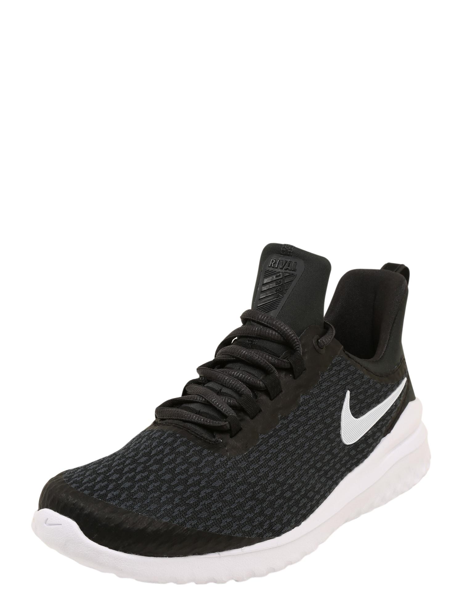 Běžecká obuv Renew Rival antracitová černá bílá NIKE