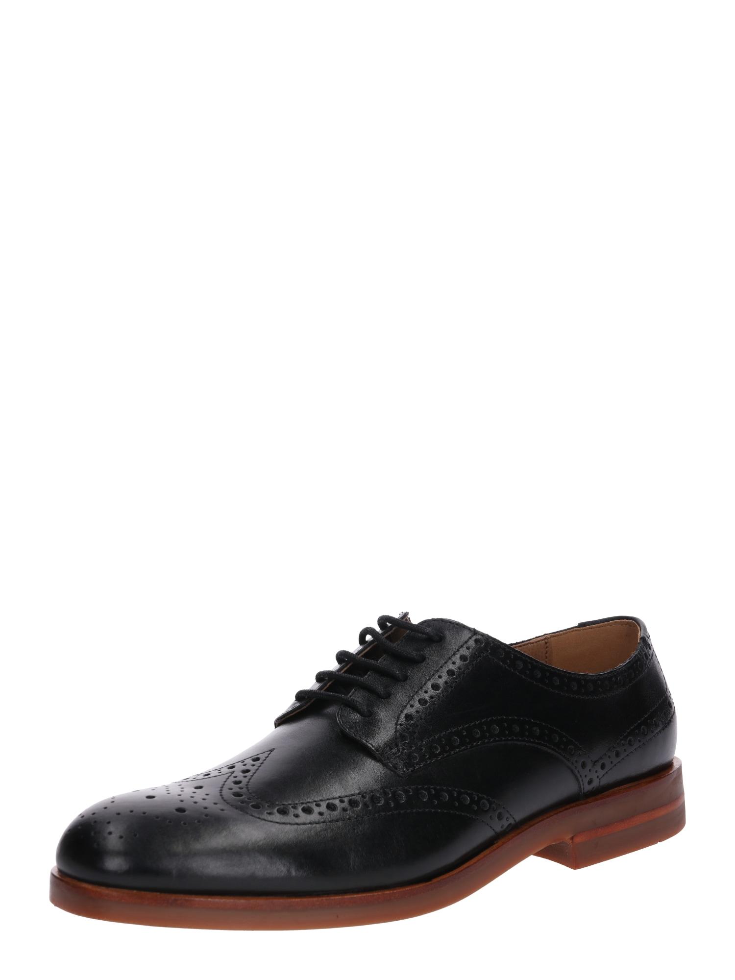 Šněrovací boty Balleter černá Hudson London