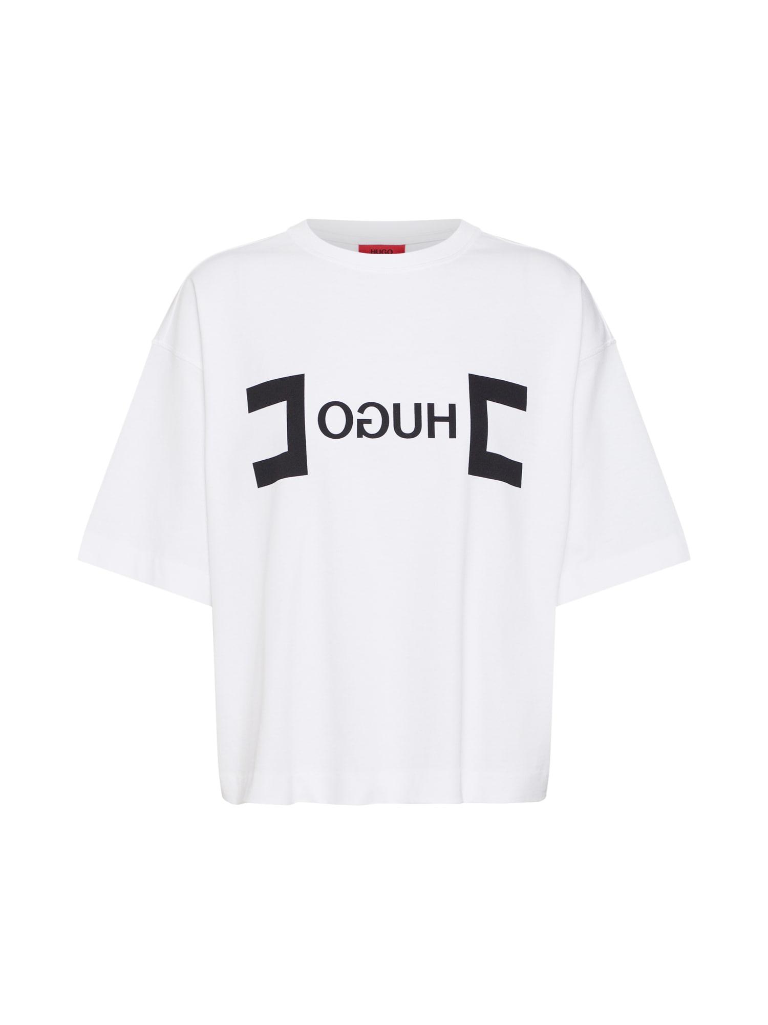 Tričko Dufia černá bílá HUGO