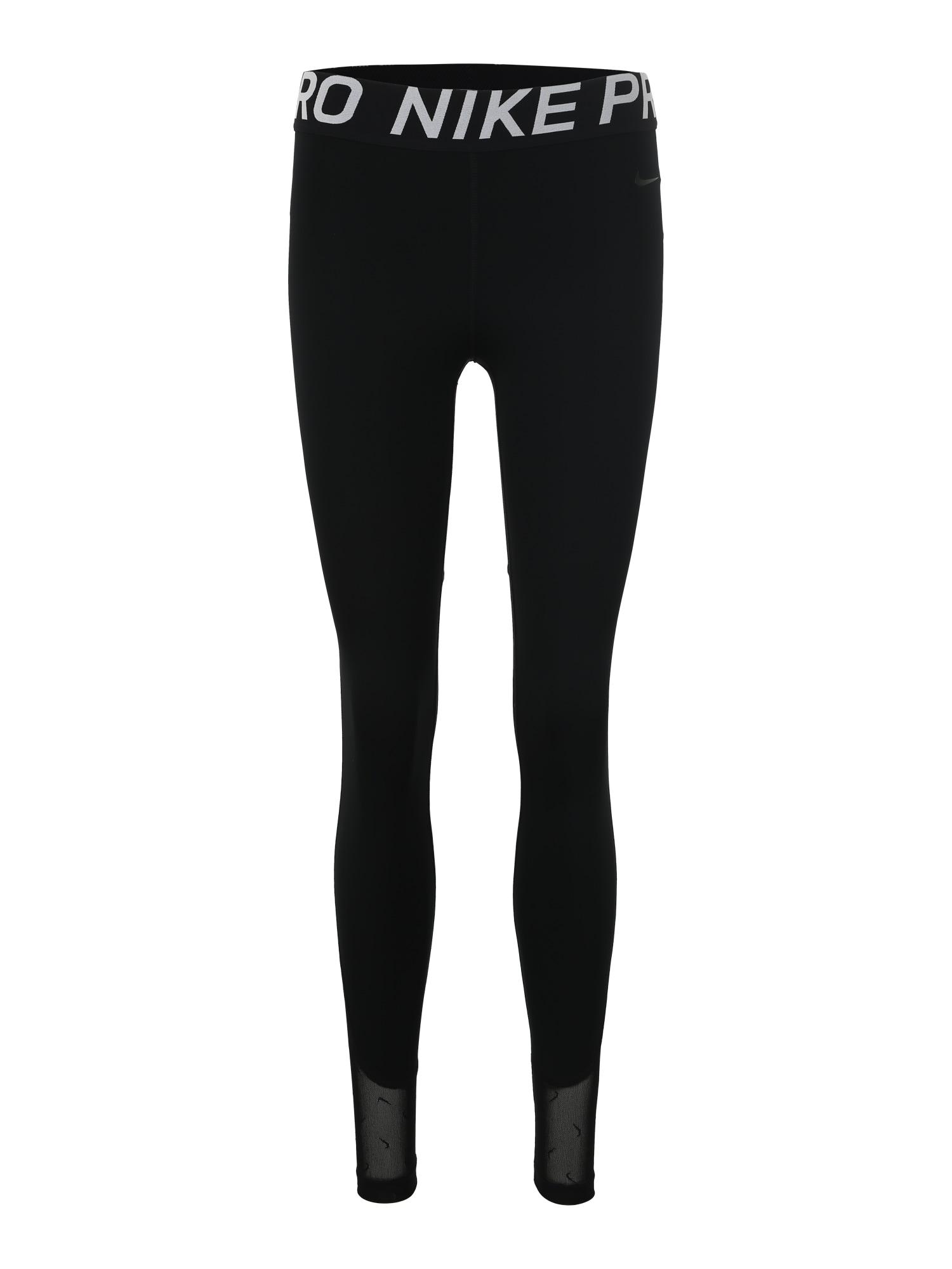 Sportovní kalhoty W NP TGHT MINI SWOOSH černá NIKE