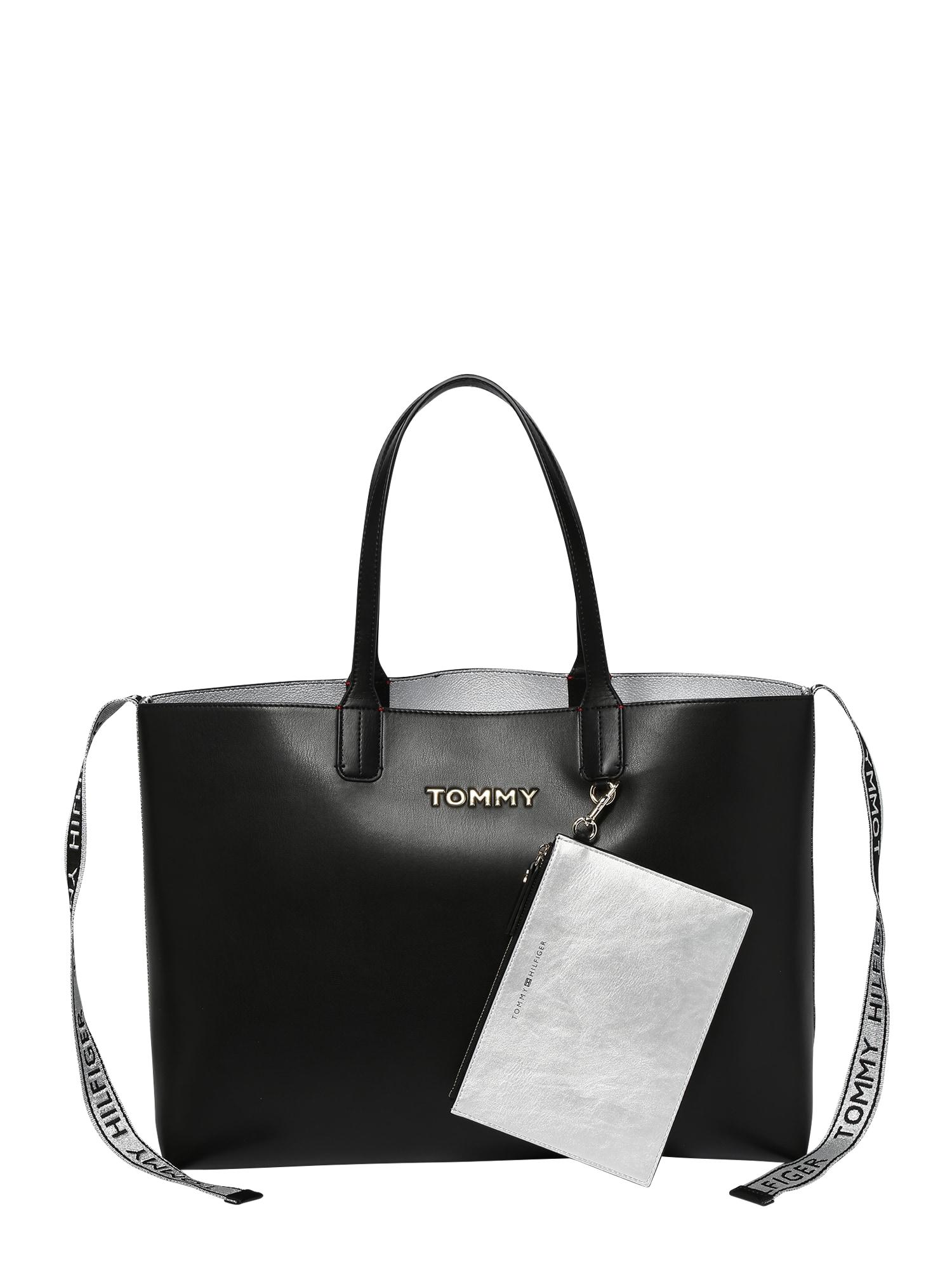 Nákupní taška černá TOMMY HILFIGER