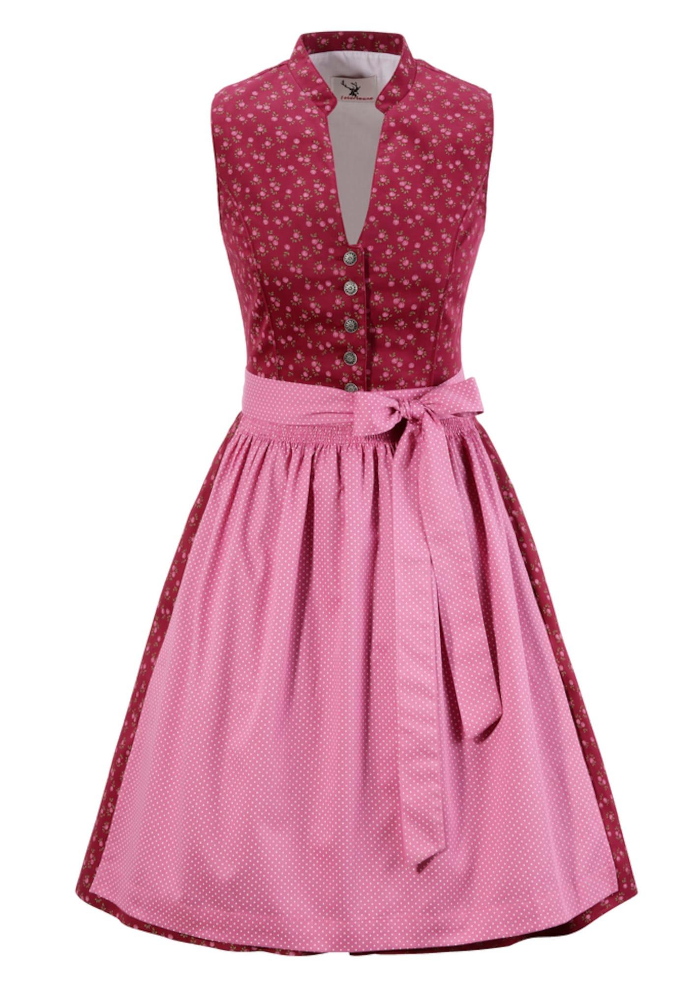 Dirndl   Bekleidung > Kleider > Dirndl   Pink - Weinrot   Spieth & Wensky Feierlaune
