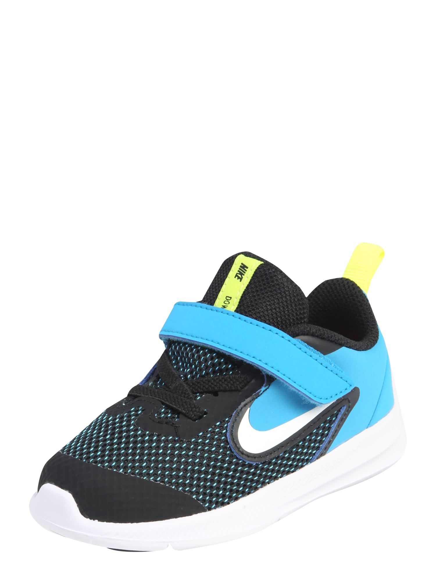 Nike Sportswear Tenisky 'DOWNSHIFTER'  tyrkysová / čierna