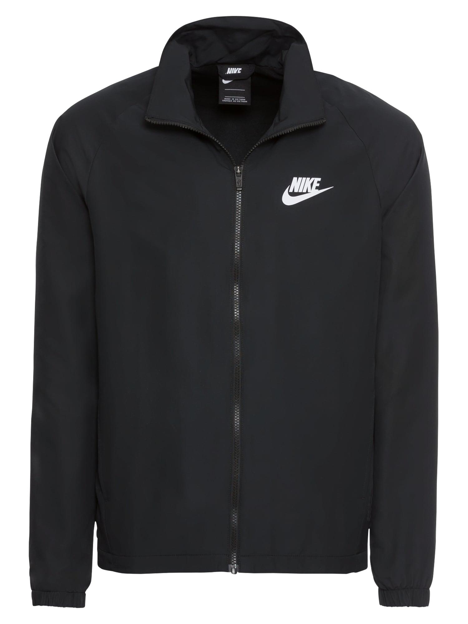 Domácí oblečení TRACK SUIT WOVEN BASIC černá Nike Sportswear