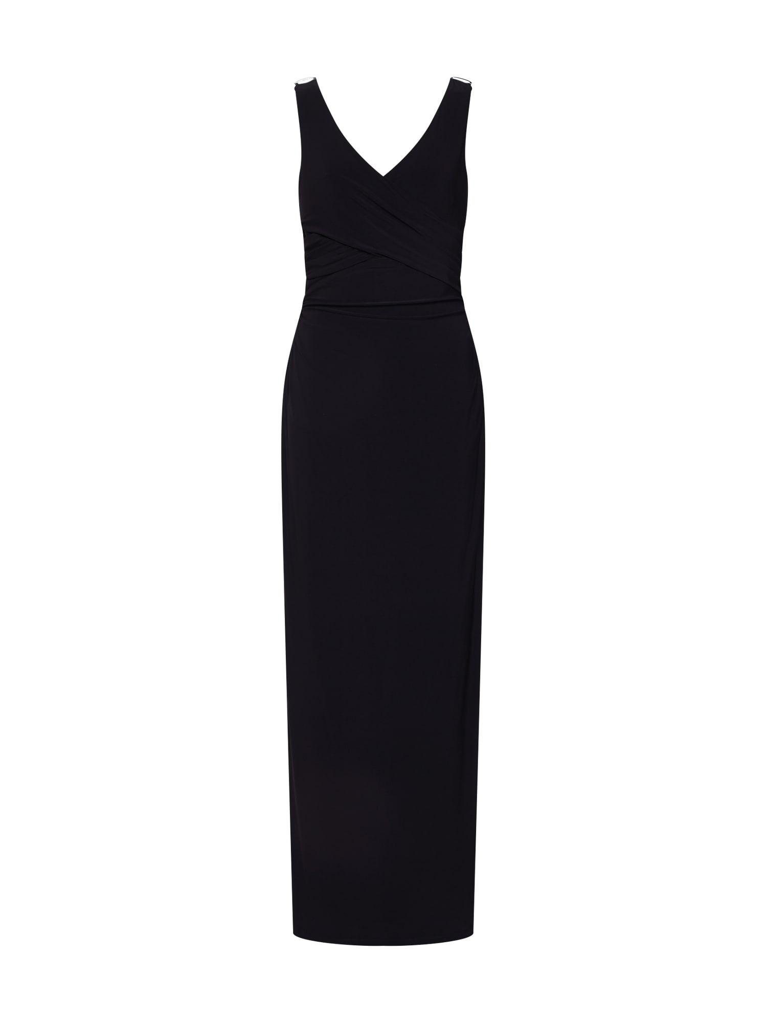 Společenské šaty JARLANNAH černá Lauren Ralph Lauren