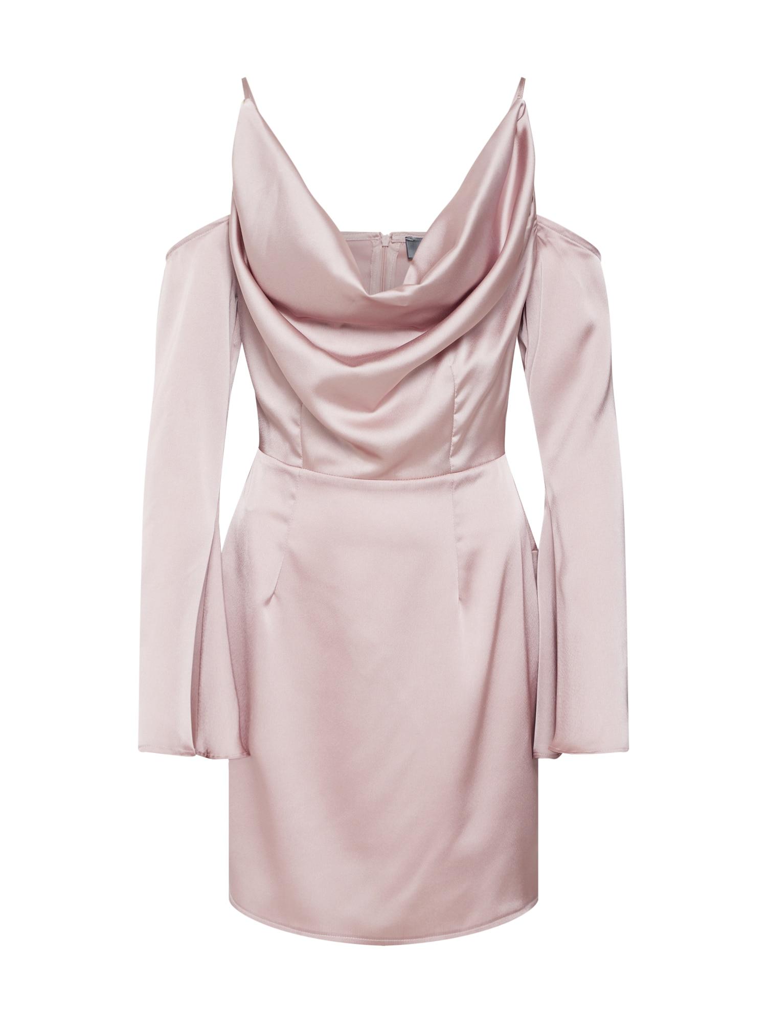 Missguided Sukienka koktajlowa  liliowy
