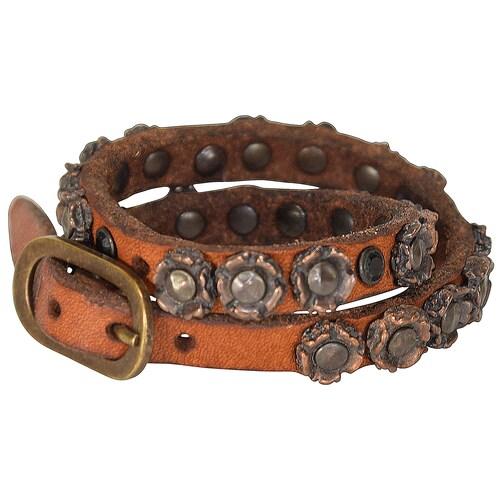 Bonsai Armband Leder 25 cm