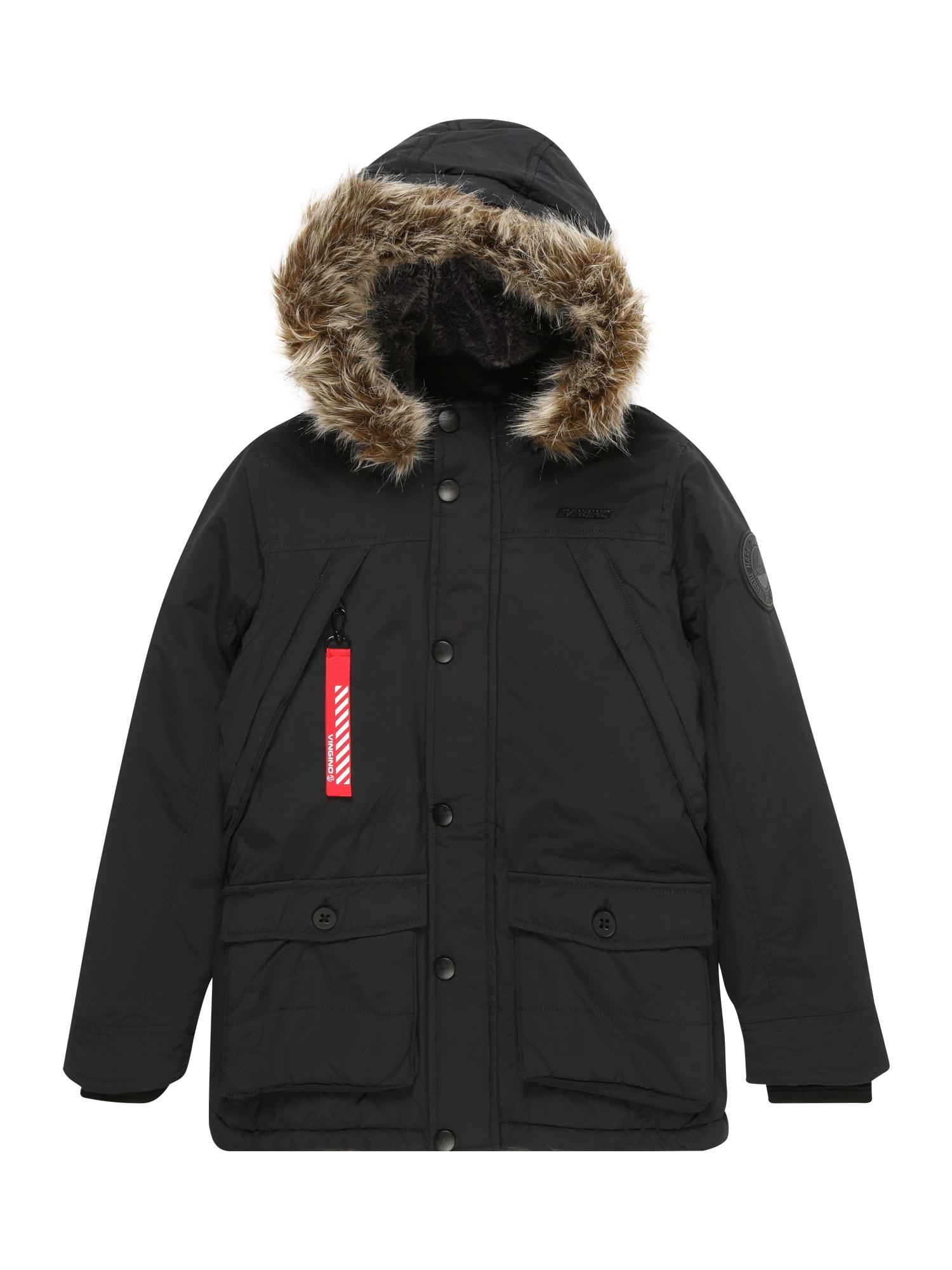Přechodná bunda Thibaut černá VINGINO