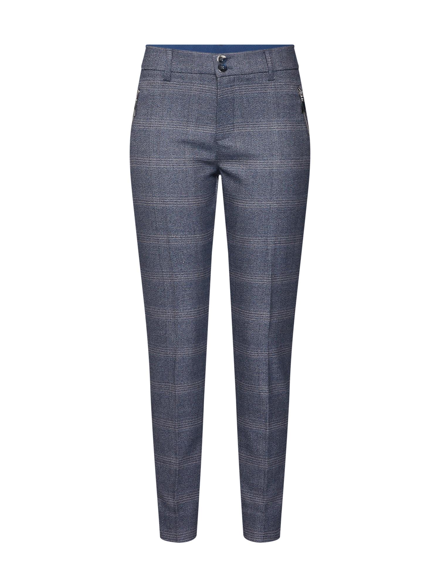 Kalhoty Levon Alisoin krémová indigo MOS MOSH