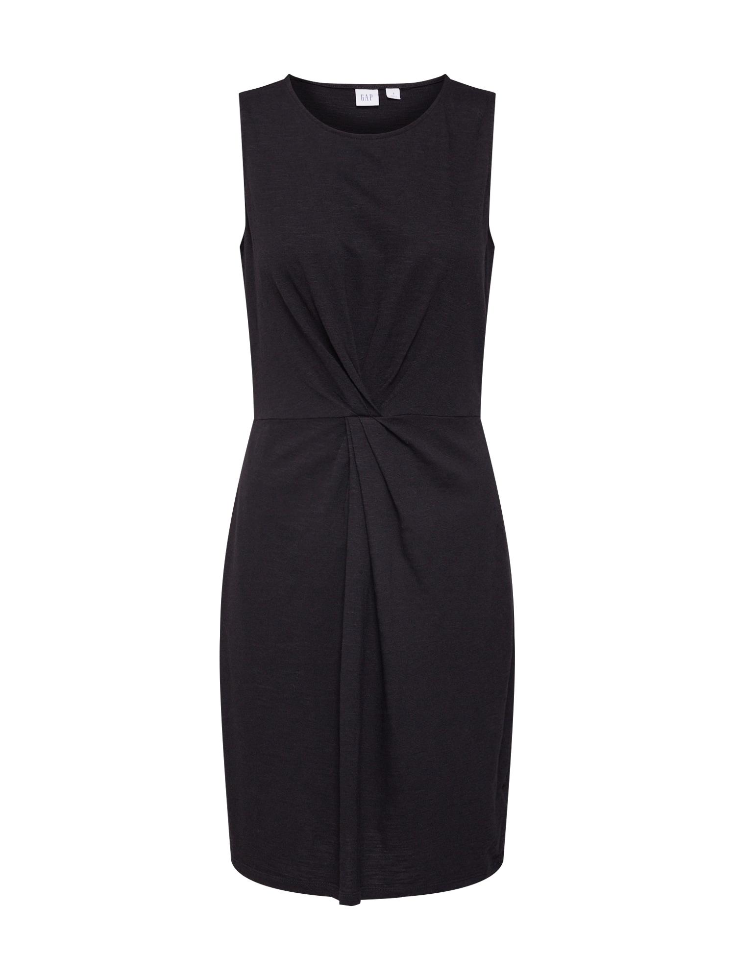 Pouzdrové šaty černá GAP