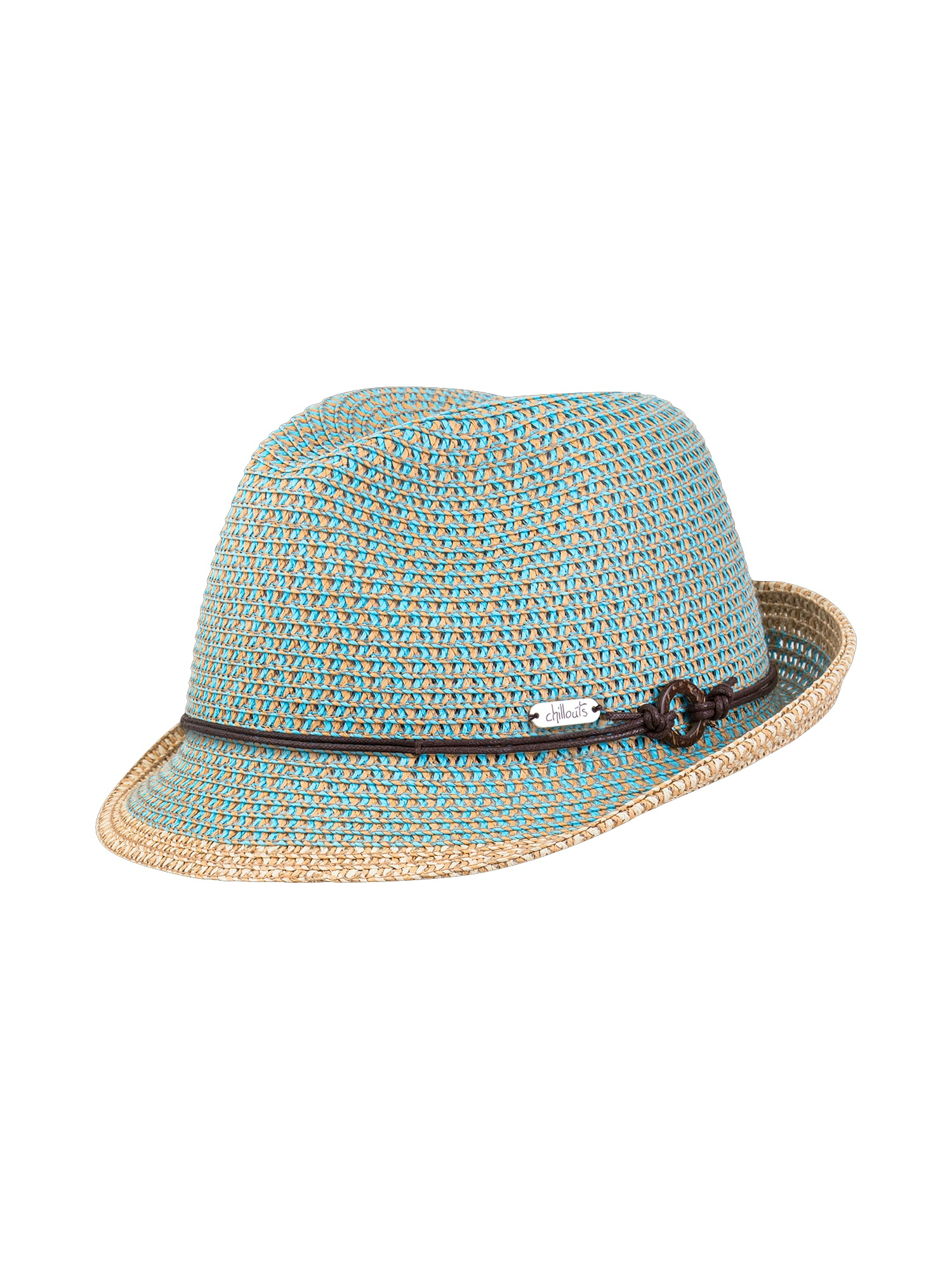 Chillouts, Dames Hoed 'Rimini Hat', lichtblauw