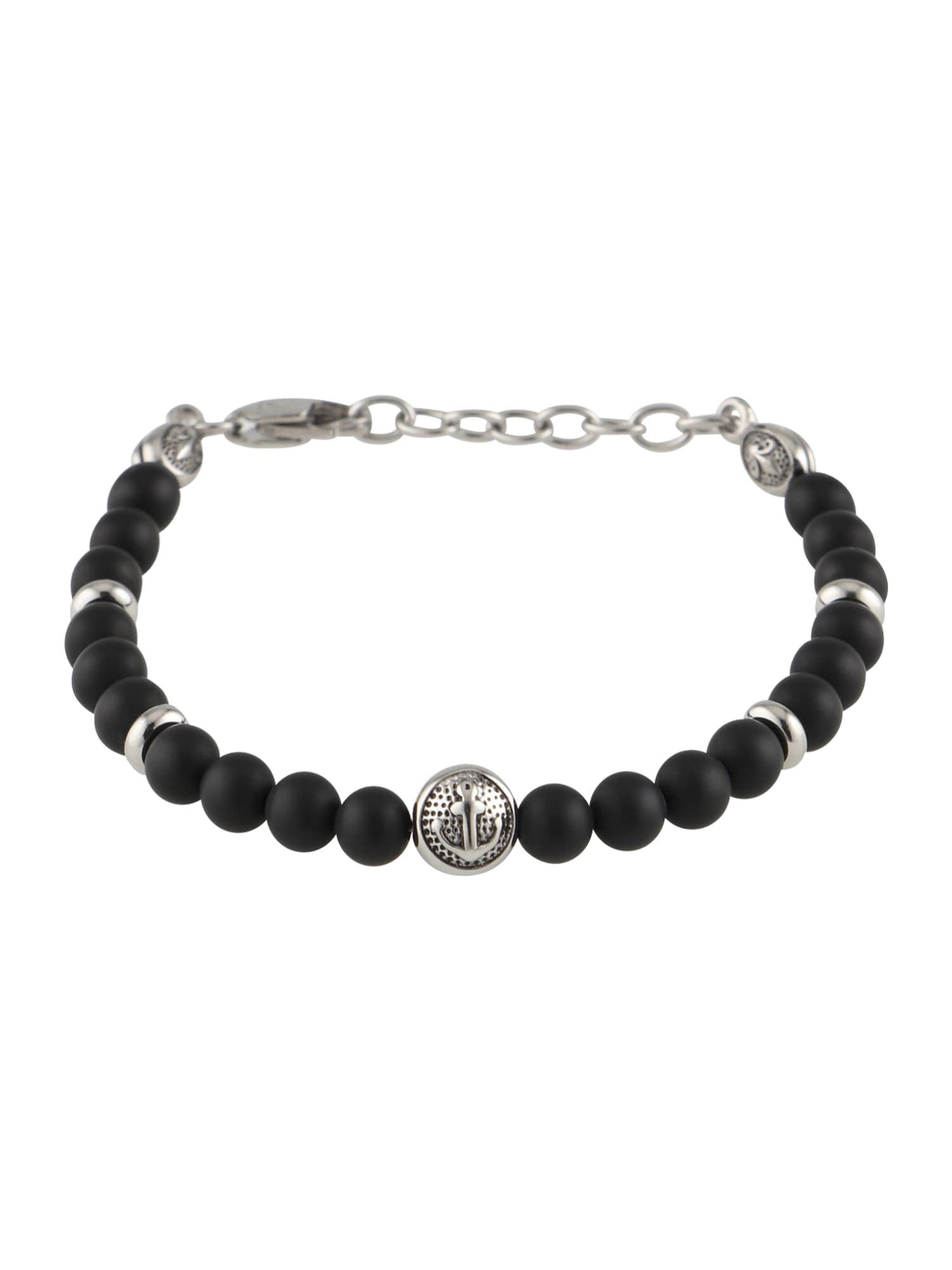 Náramek Bracelet černá ROYAL-EGO