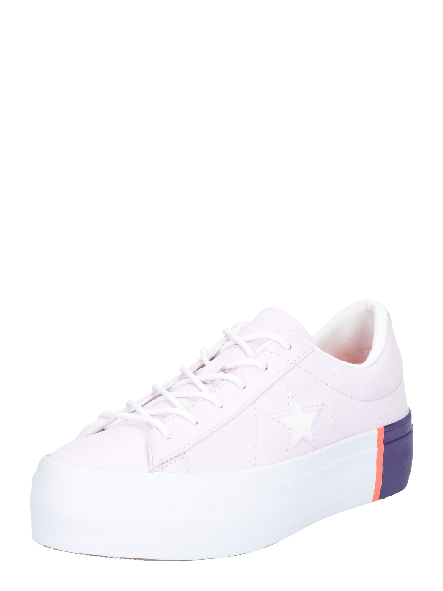 CONVERSE, Dames Sneakers laag 'ONE STAR PLATFORM - OX', pastellila / donkerlila / wit