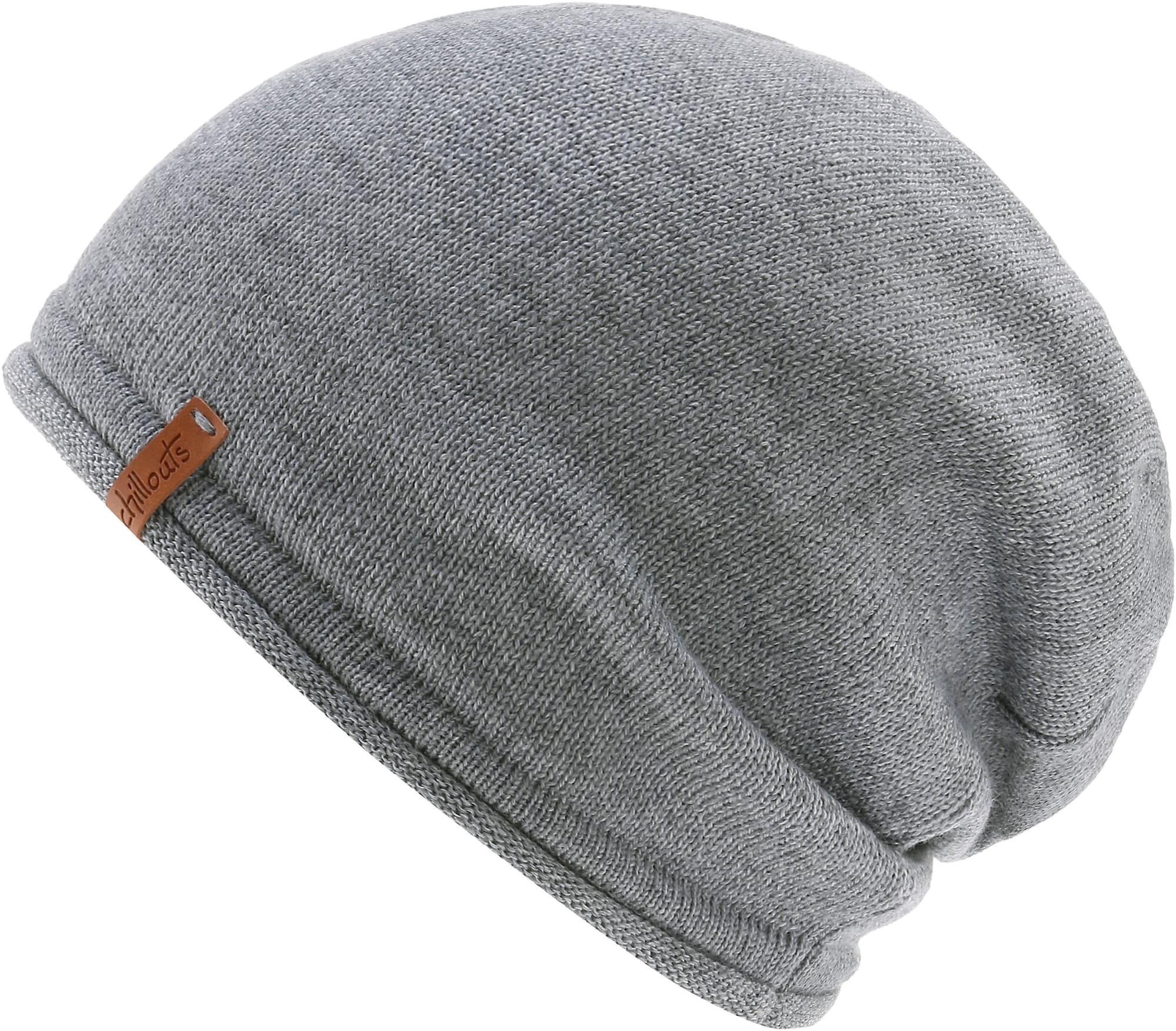 Čepice Leicester Hat světle šedá Chillouts