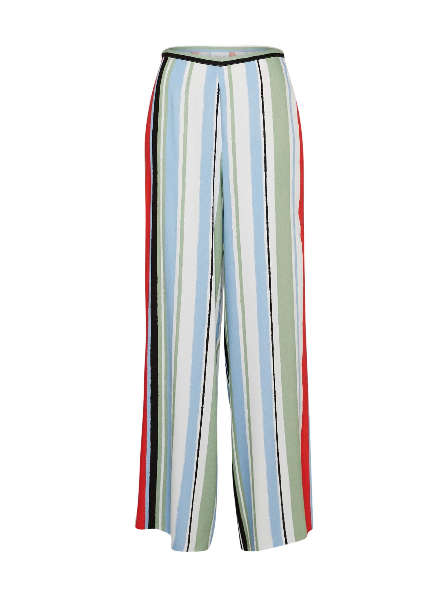 Kalhoty VIESMERELDA PANT bílá VILA
