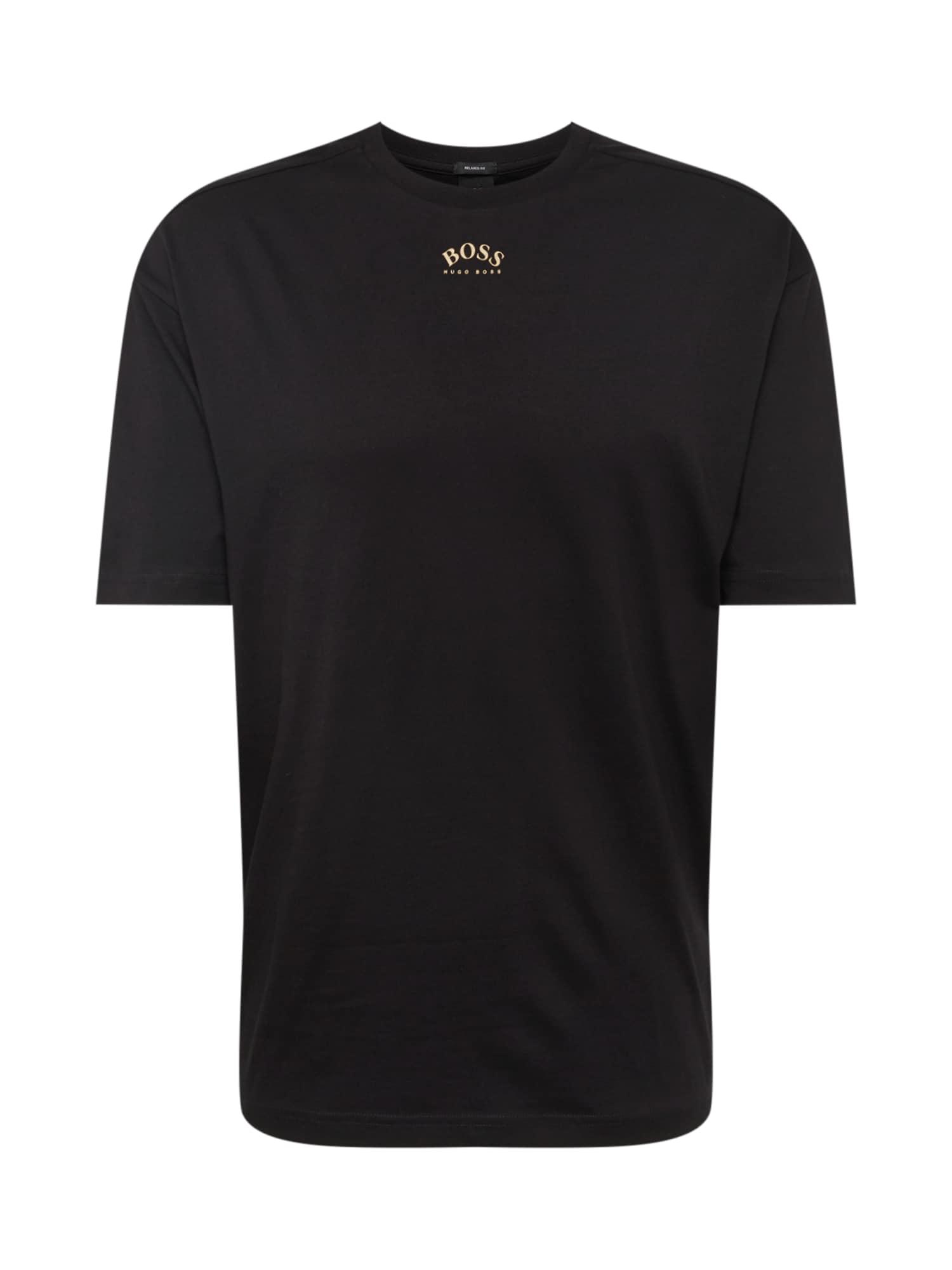 Tričko Talboa černá BOSS