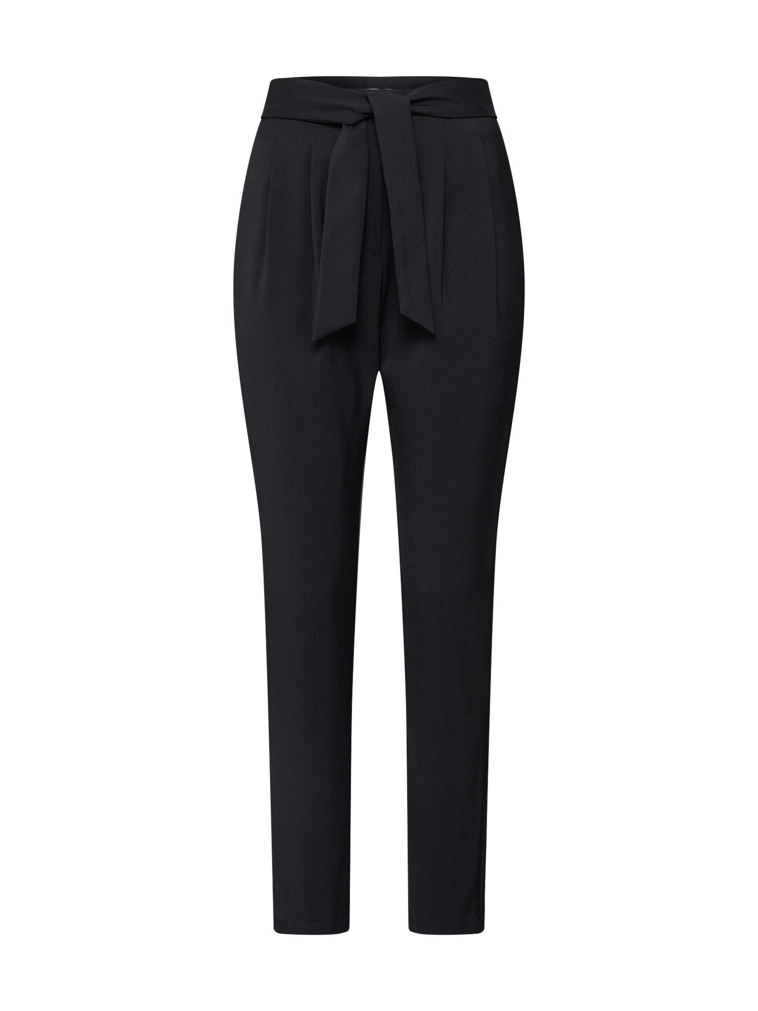 Kalhoty se sklady v pase Jimmy Trousers černá 4th & Reckless