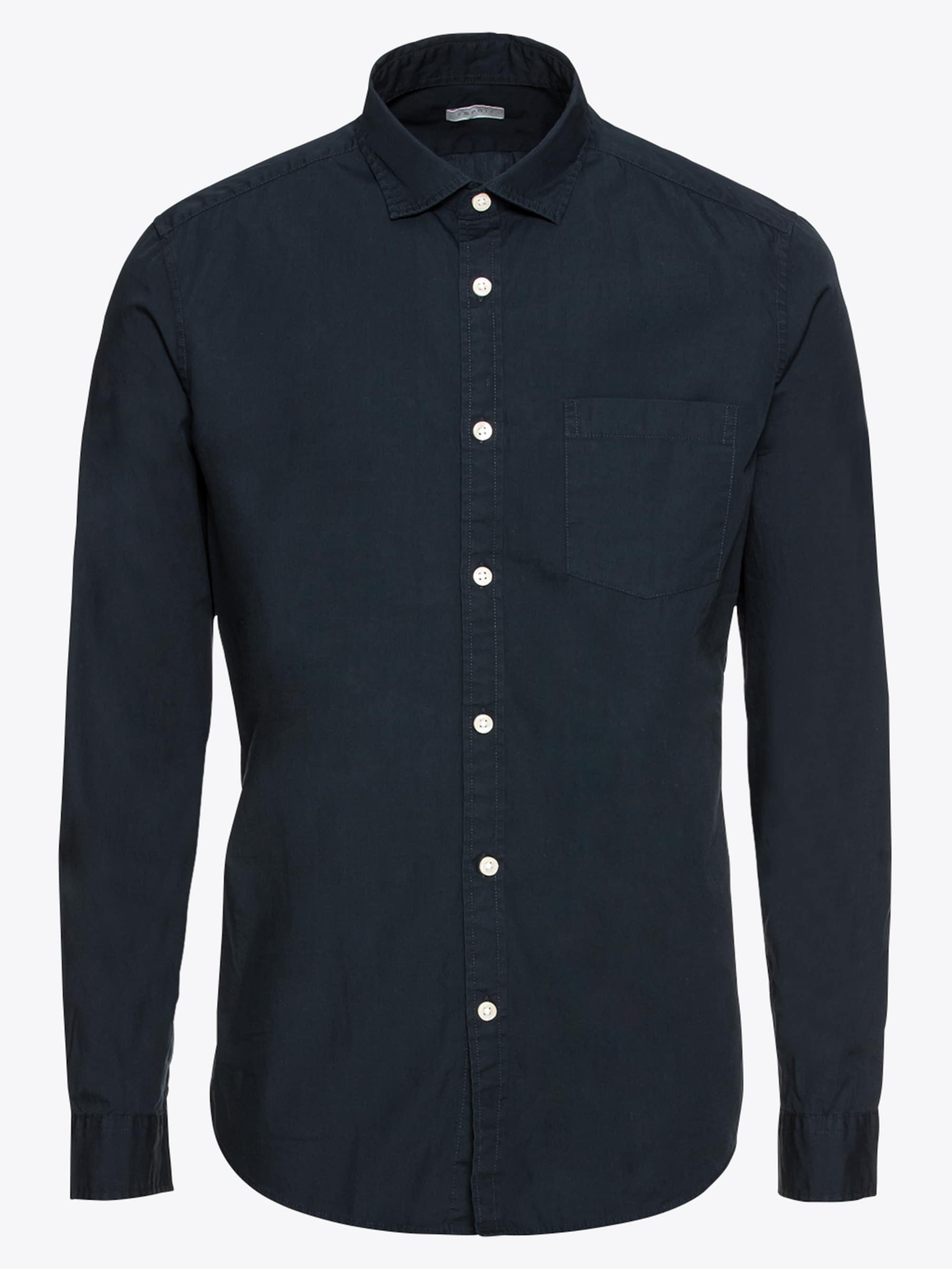 Overhemd 'F solid pop ls'