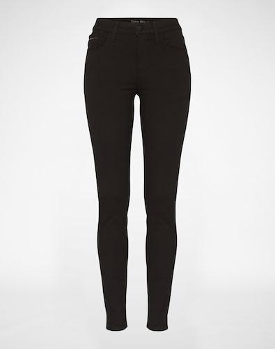 #Calvin #Klein #Jeans #Damen #High #Rise #Skinny #Jeans #schwarz