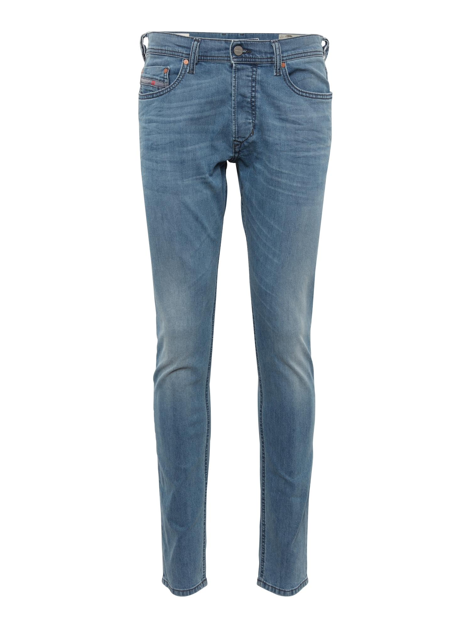 DIESEL Heren Jeans Tepphar blue denim