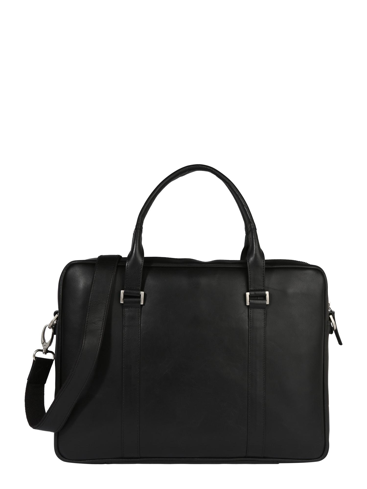 Aktovka Pioneer Single Day Bag  černá ROYAL REPUBLIQ