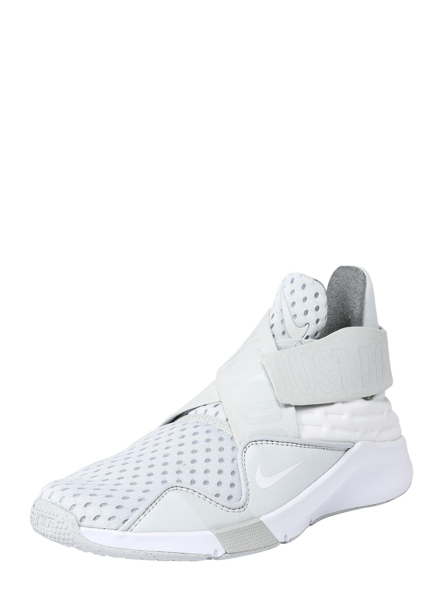 Sportovní boty světle šedá bílá NIKE