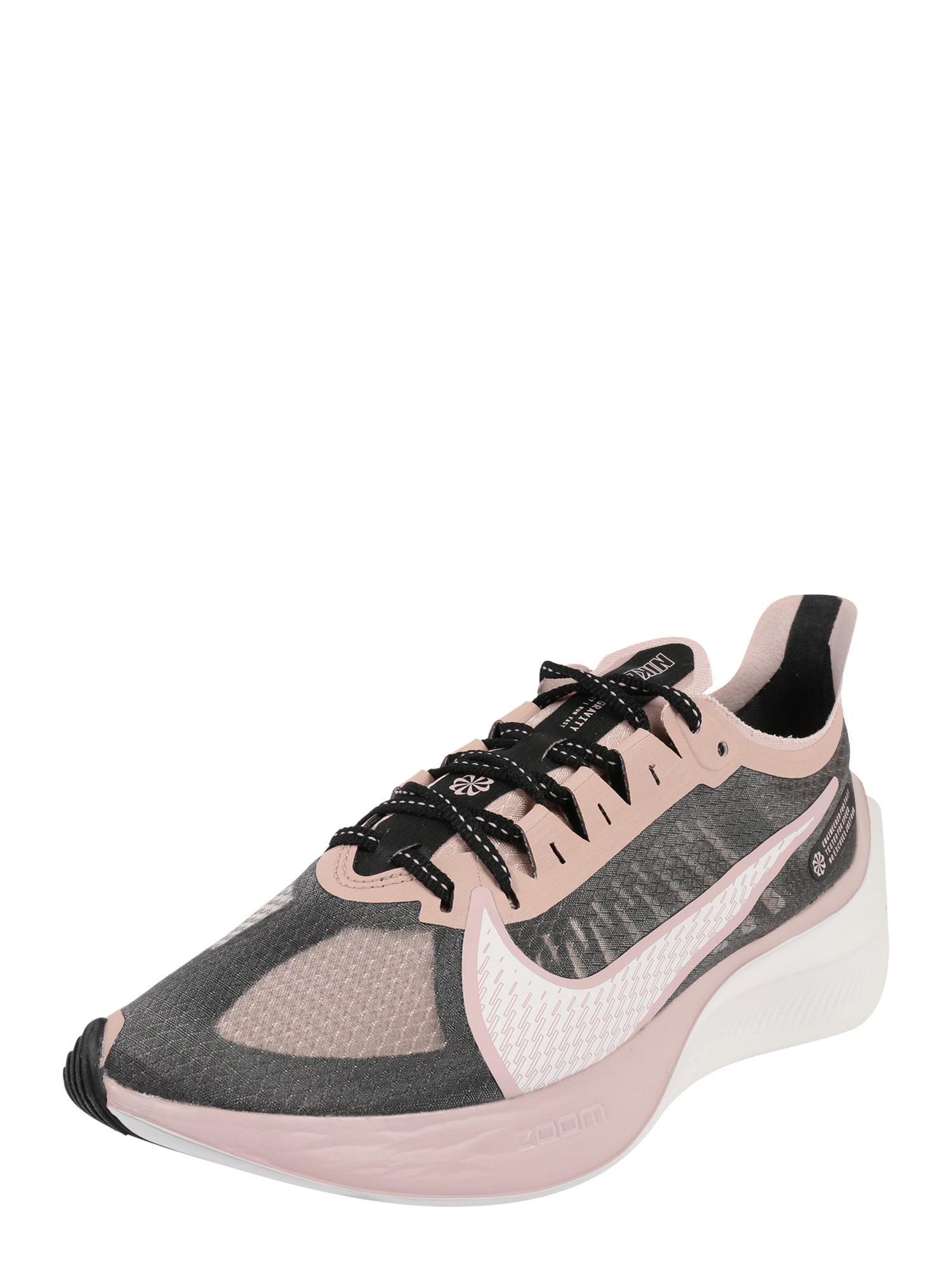 NIKE Bežecká obuv 'Nike Zoom Gravity'  ružová / čierna