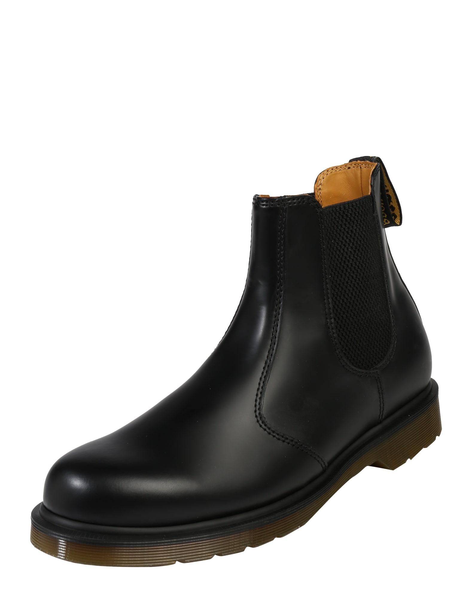 Chelsea boty černá Dr. Martens