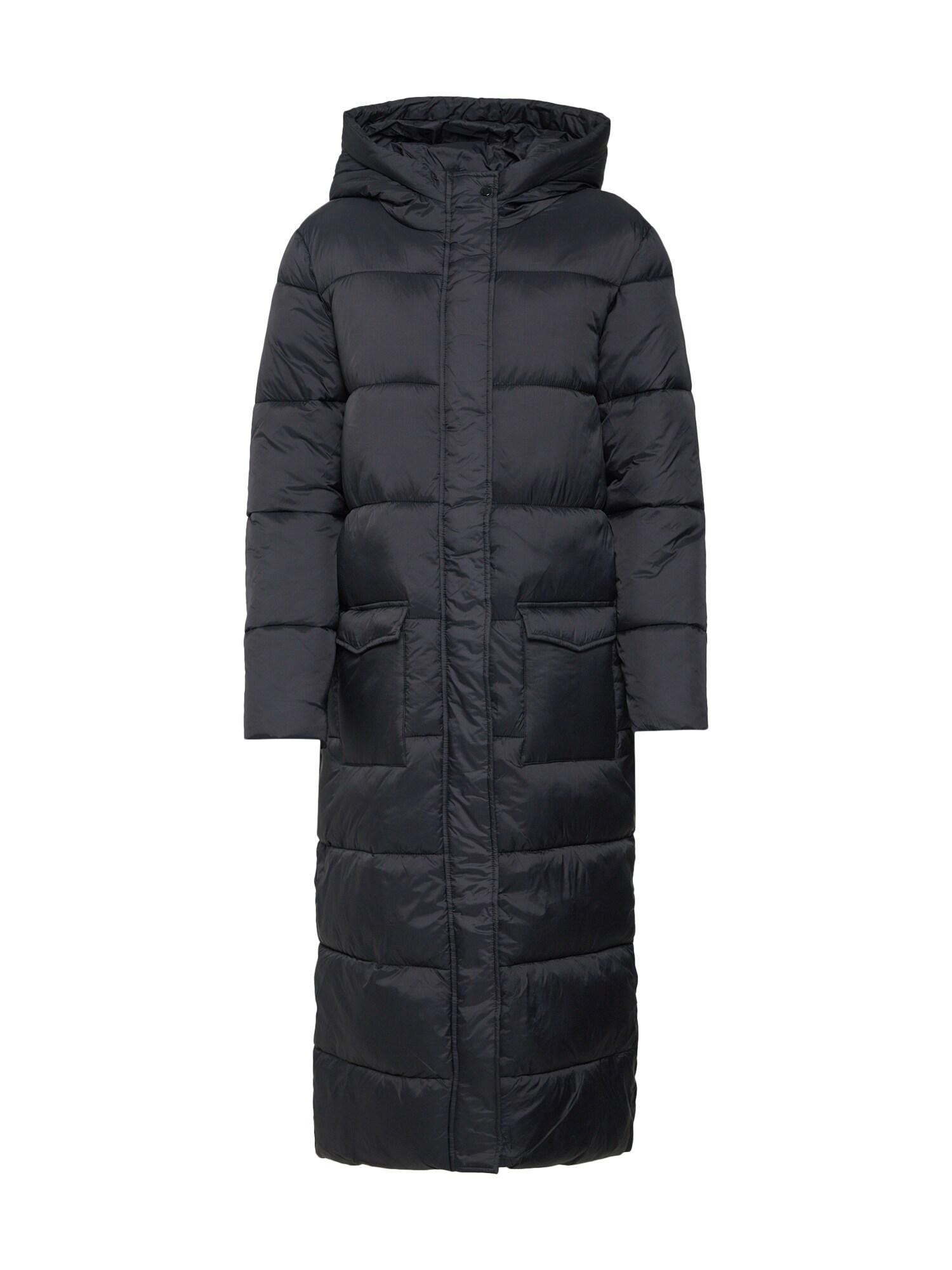Zimní kabát černá SAINT TROPEZ