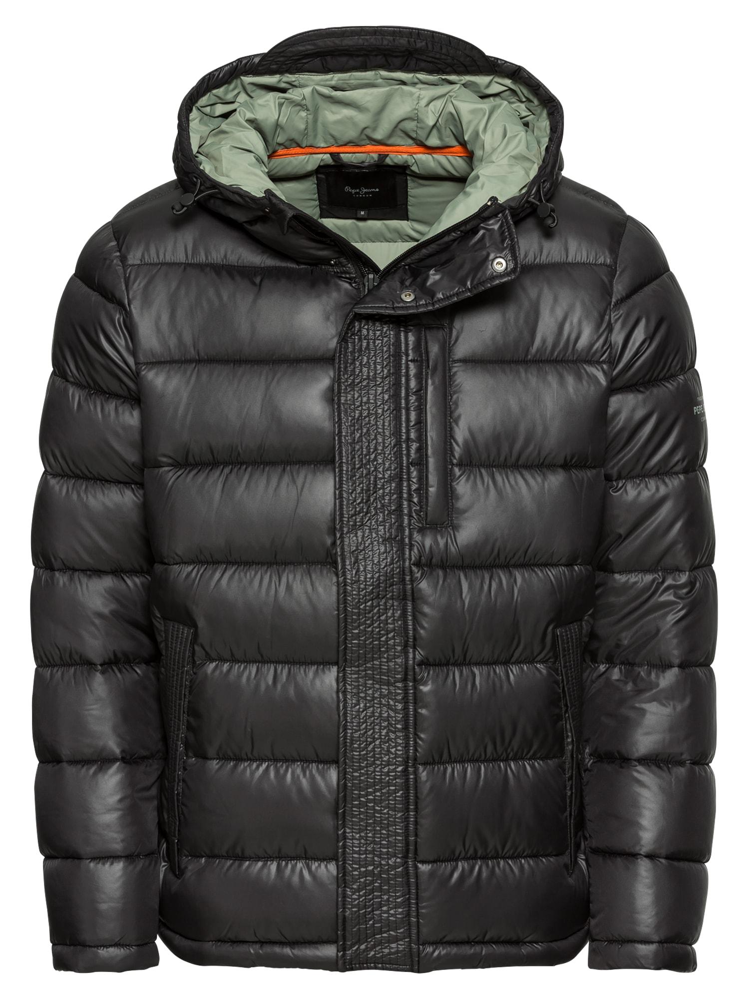 Zimní bunda WALBROOKS černá Pepe Jeans