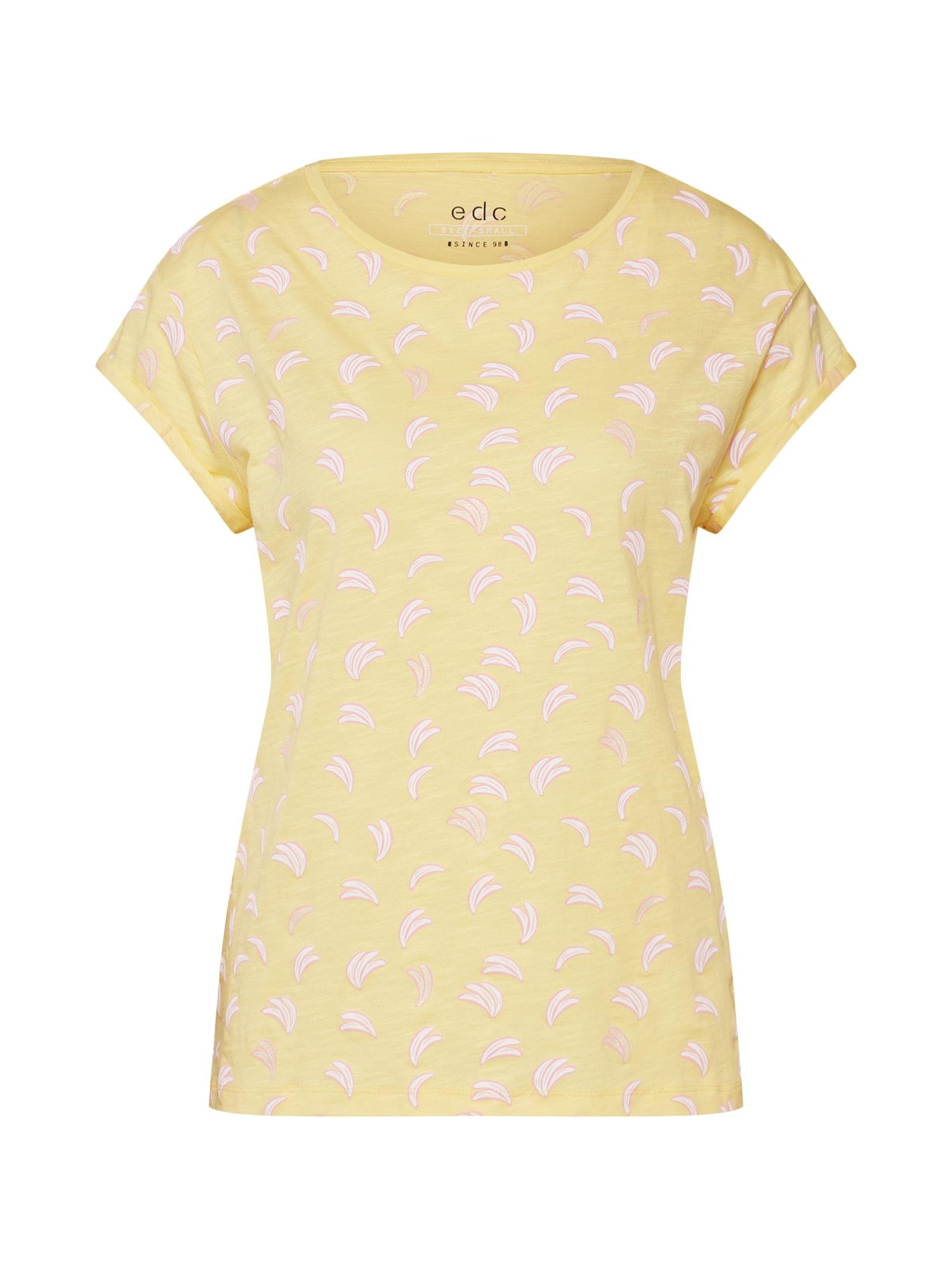 Tričko žlutá EDC BY ESPRIT