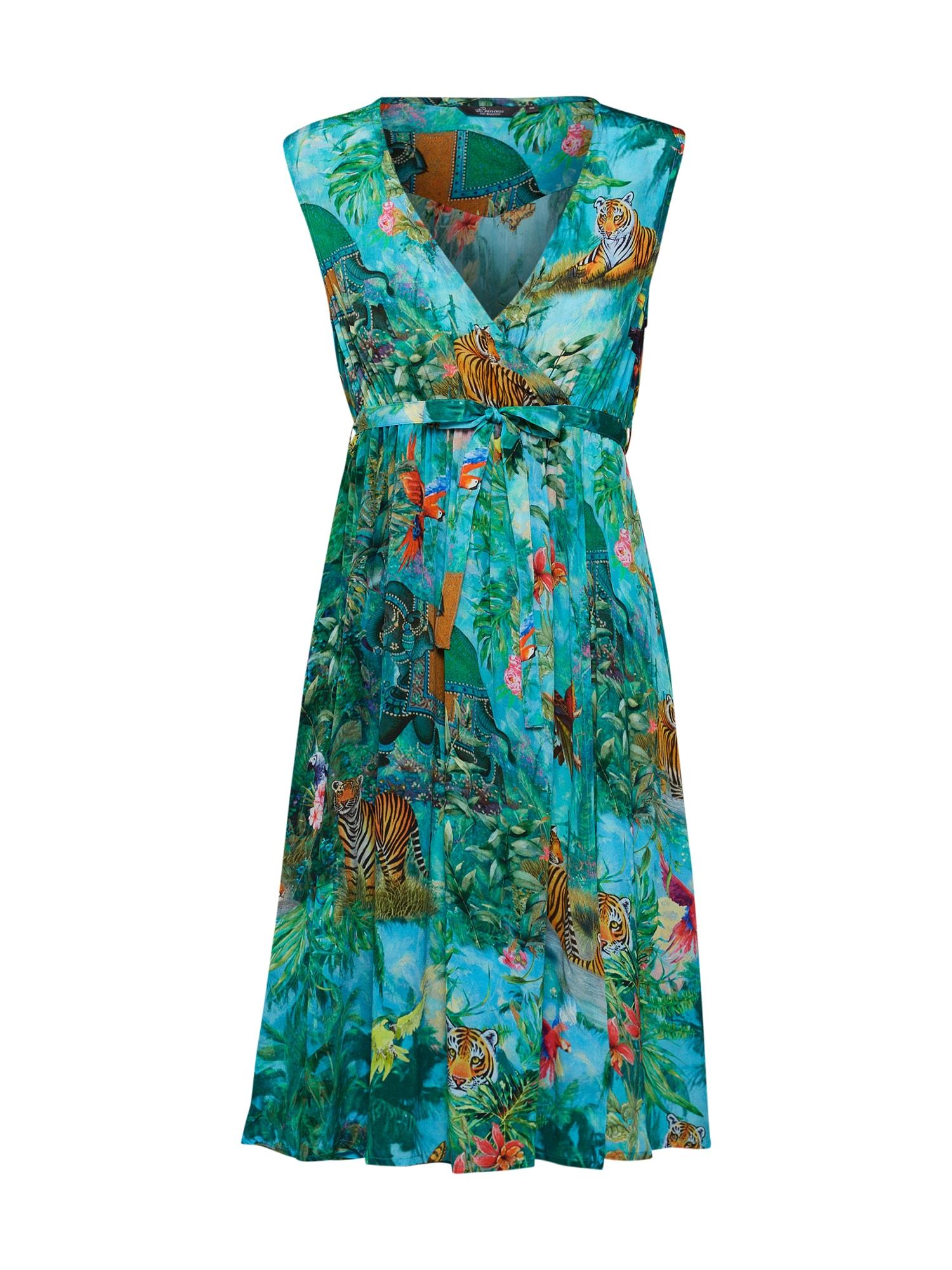 Letní šaty Indian fairy allover dress zelená PRINCESS GOES HOLLYWOOD